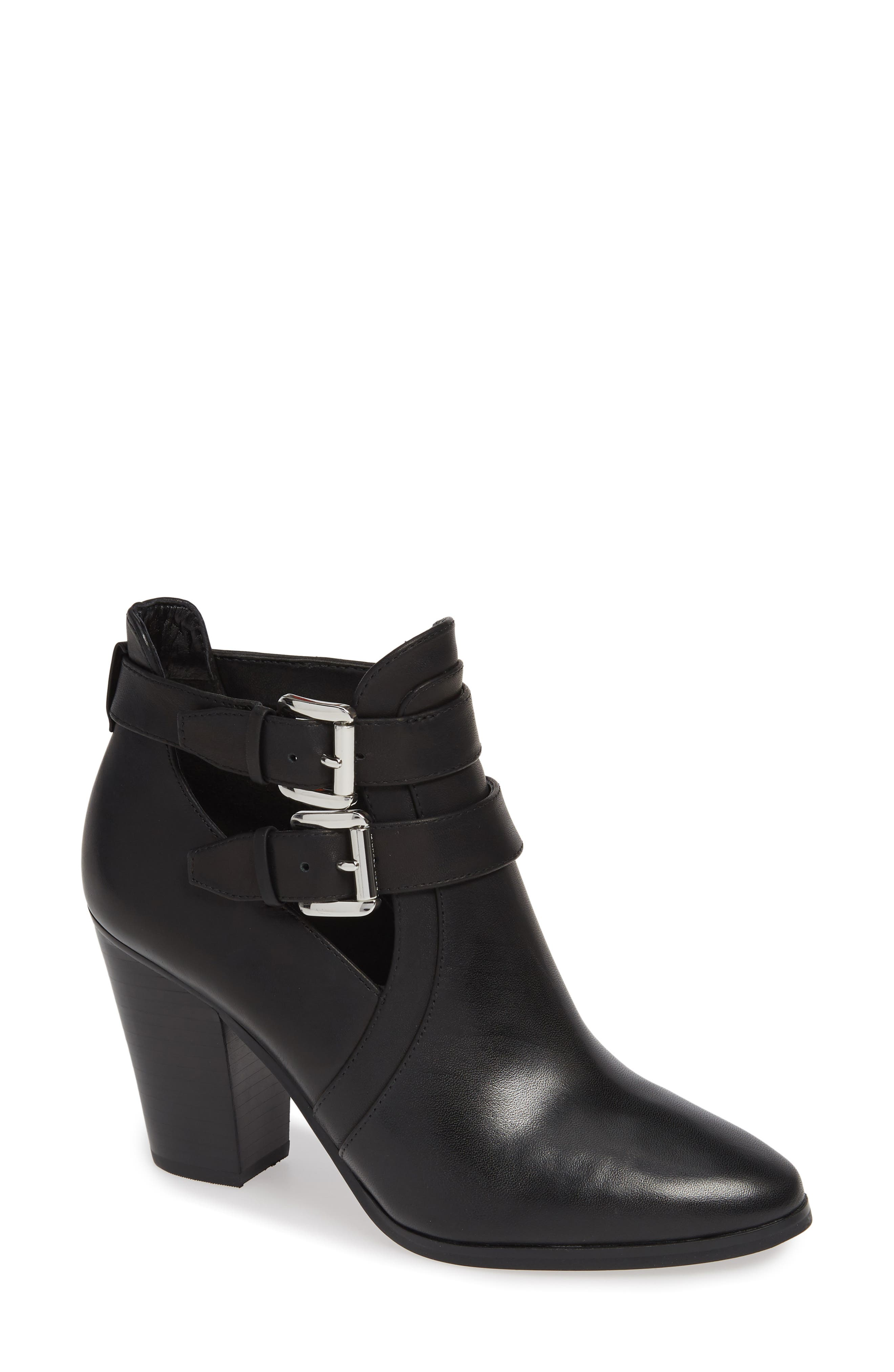 Walden Bootie,                             Main thumbnail 1, color,                             BLACK VACHETTA LEATHER