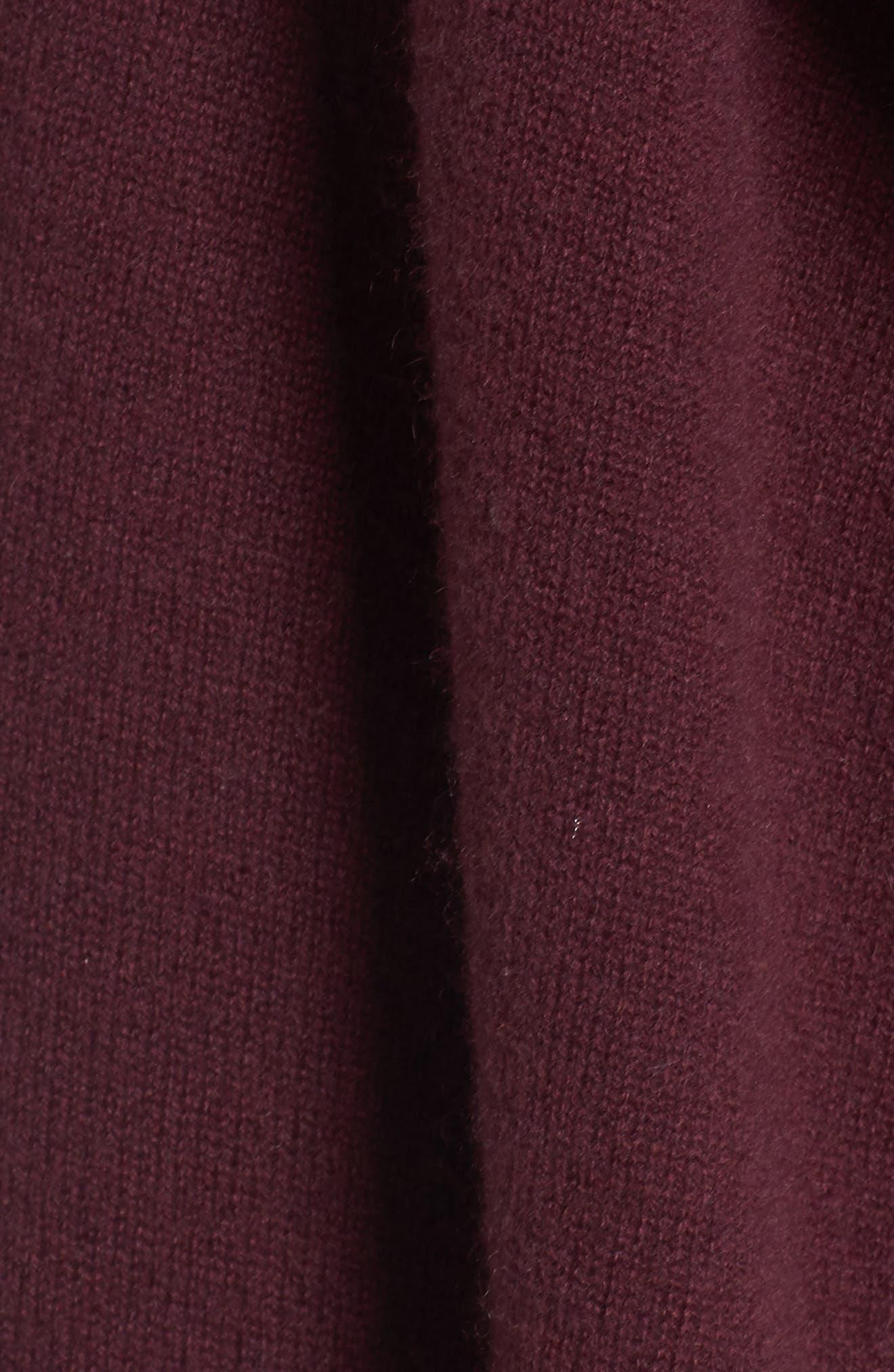 Cashmere Long Drape Front Cardigan,                             Alternate thumbnail 38, color,