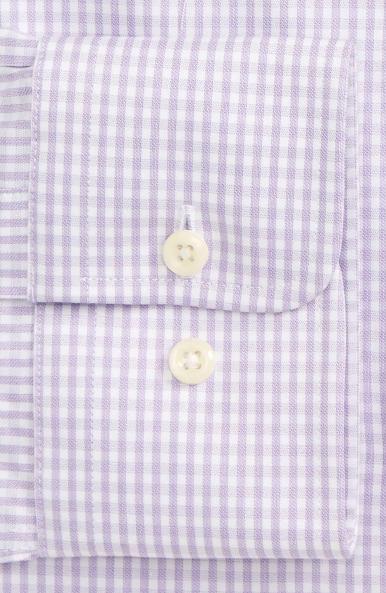 Slim Fit Check Dress Shirt,                             Alternate thumbnail 2, color,                             534