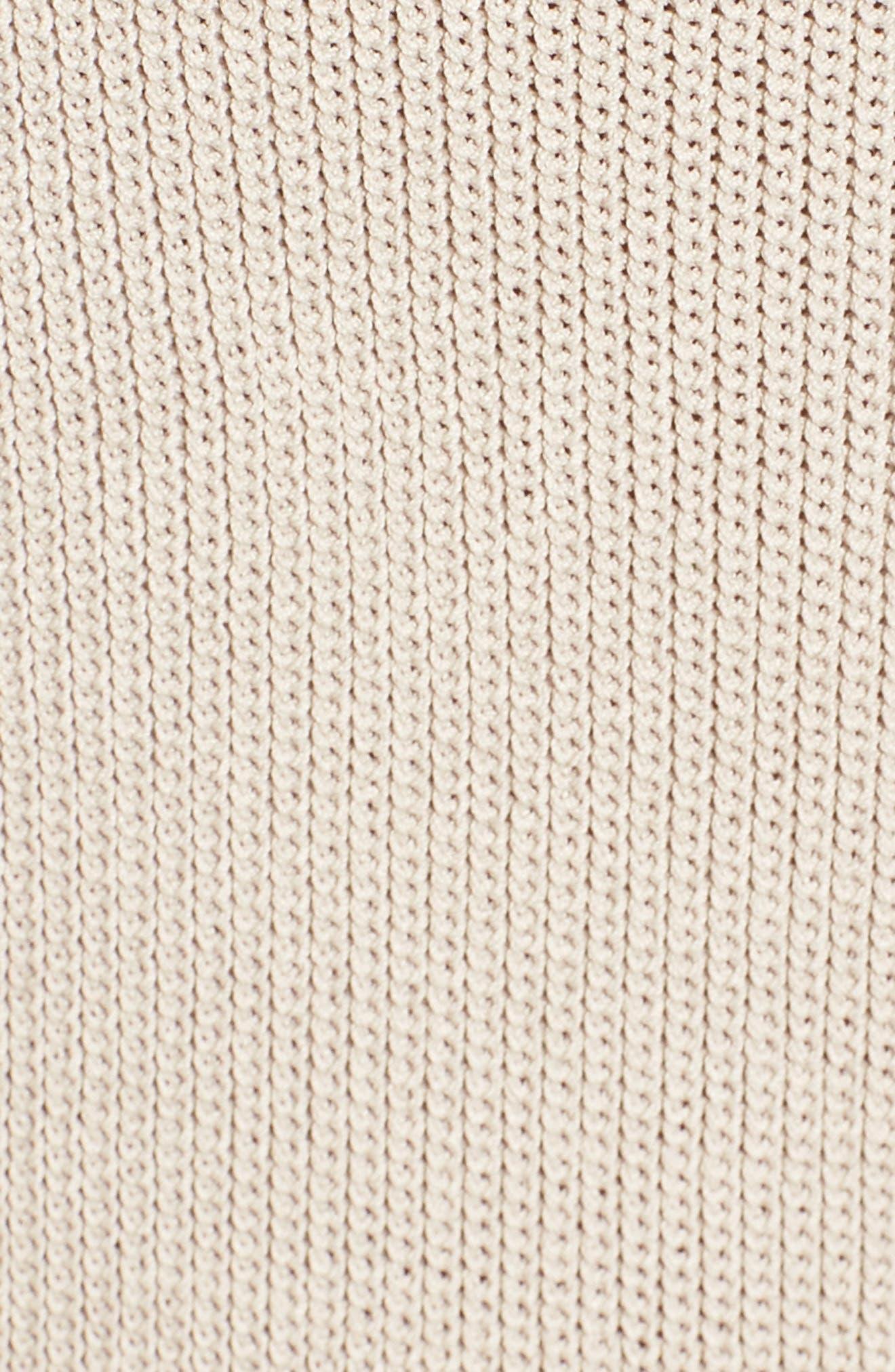 Sweater Strap Dress,                             Alternate thumbnail 6, color,                             050