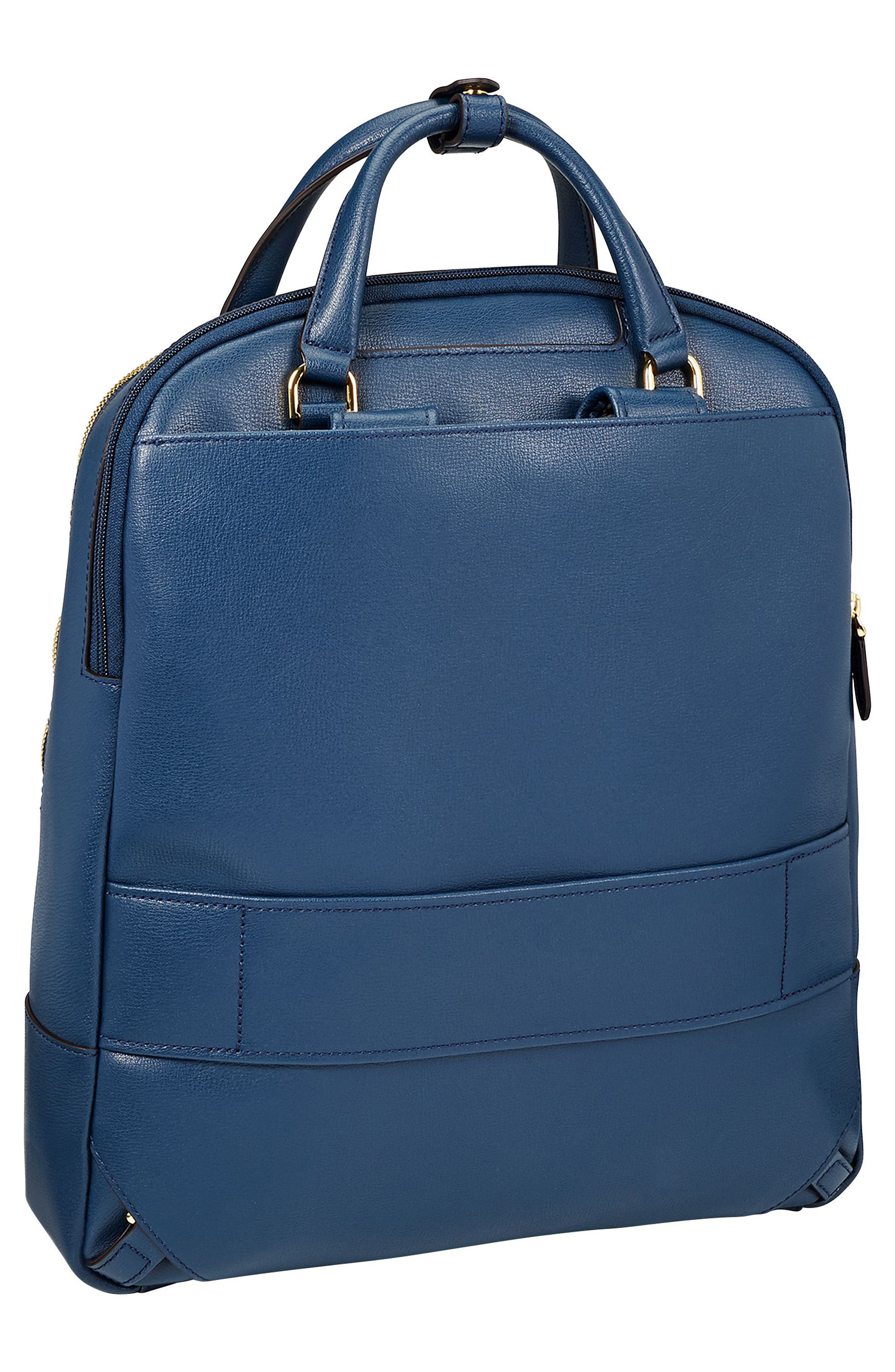 Stanton Orion Leather Backpack,                             Alternate thumbnail 9, color,