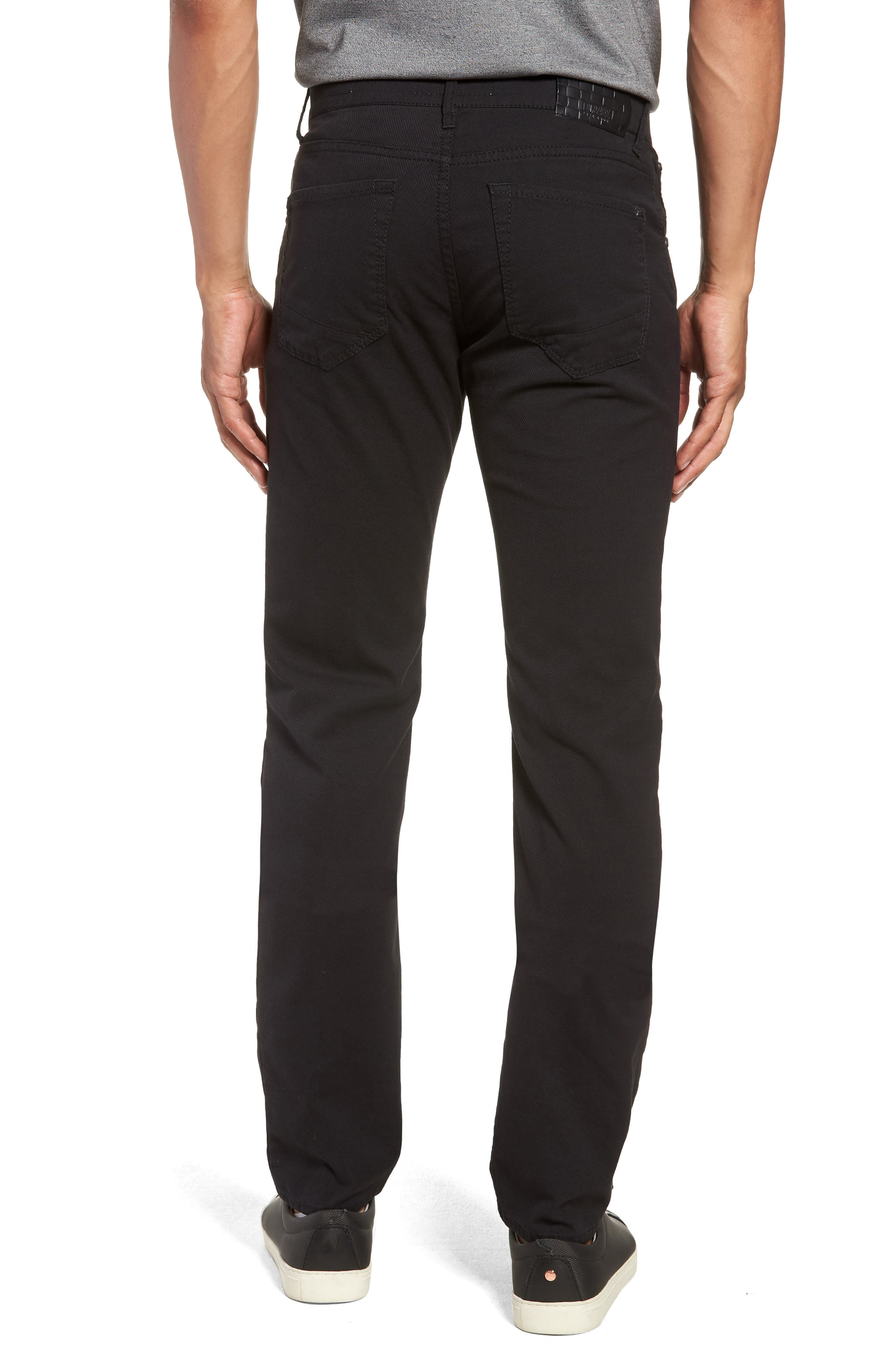 Woolook Diamond Slim Fit Pants,                             Alternate thumbnail 2, color,                             BLACK