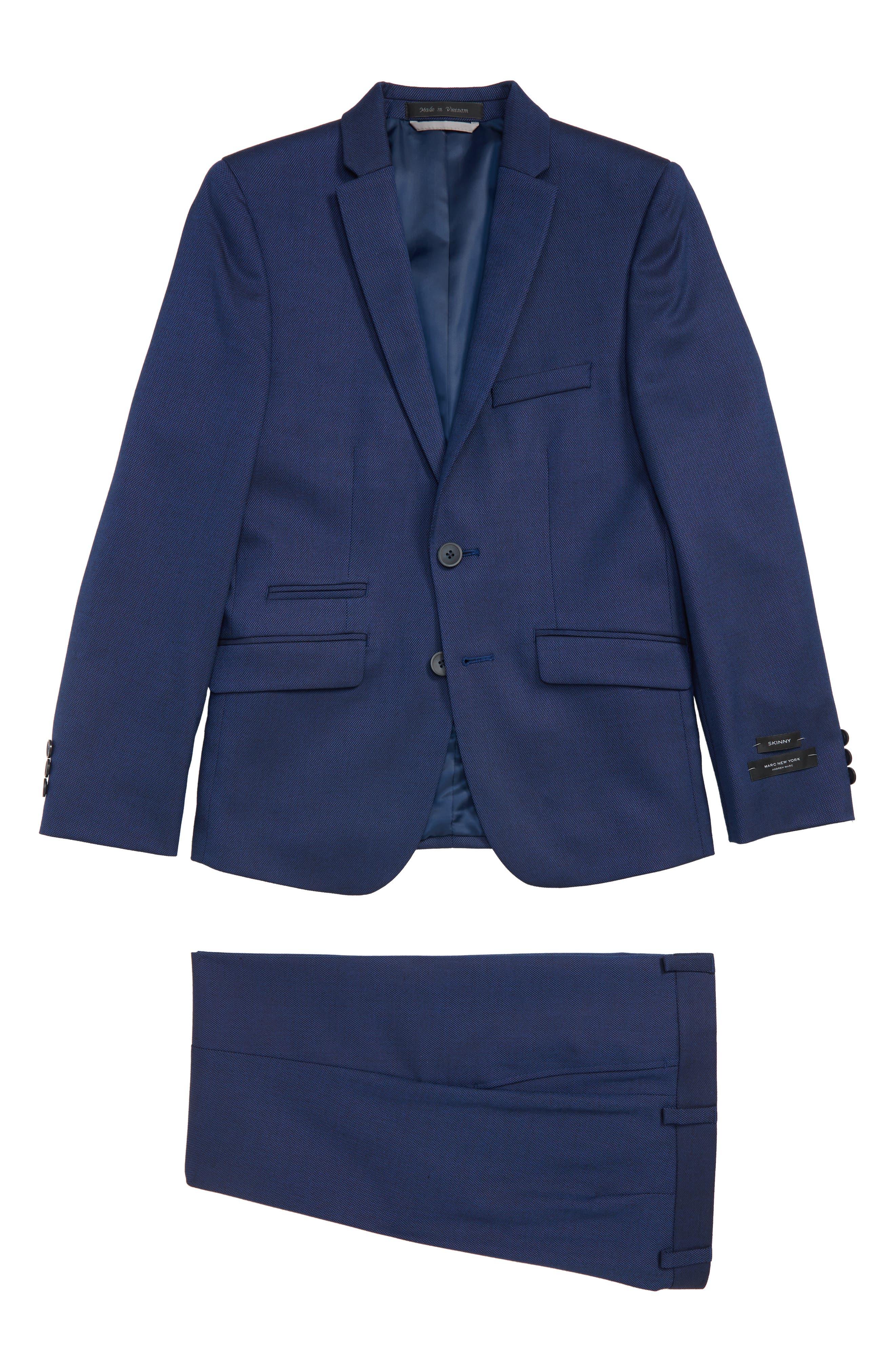 Suit,                             Main thumbnail 1, color,                             BLUE