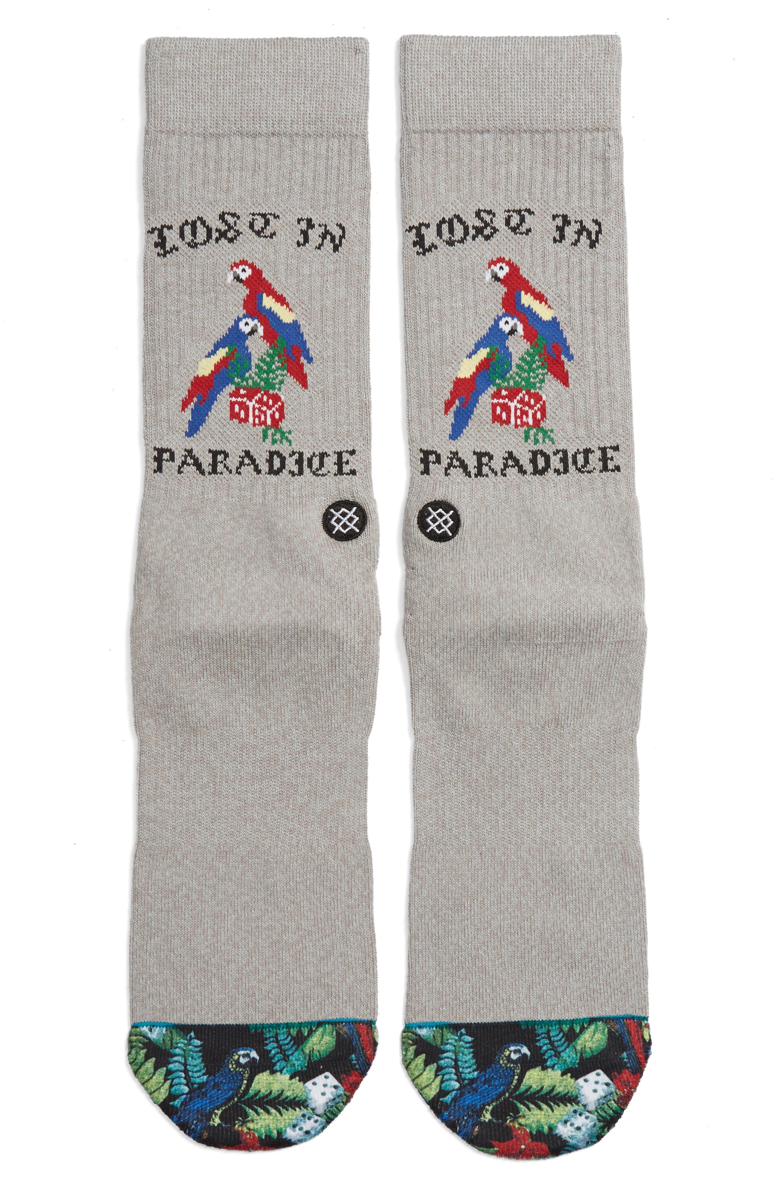 STANCE Paradice Socks, Main, color, 030