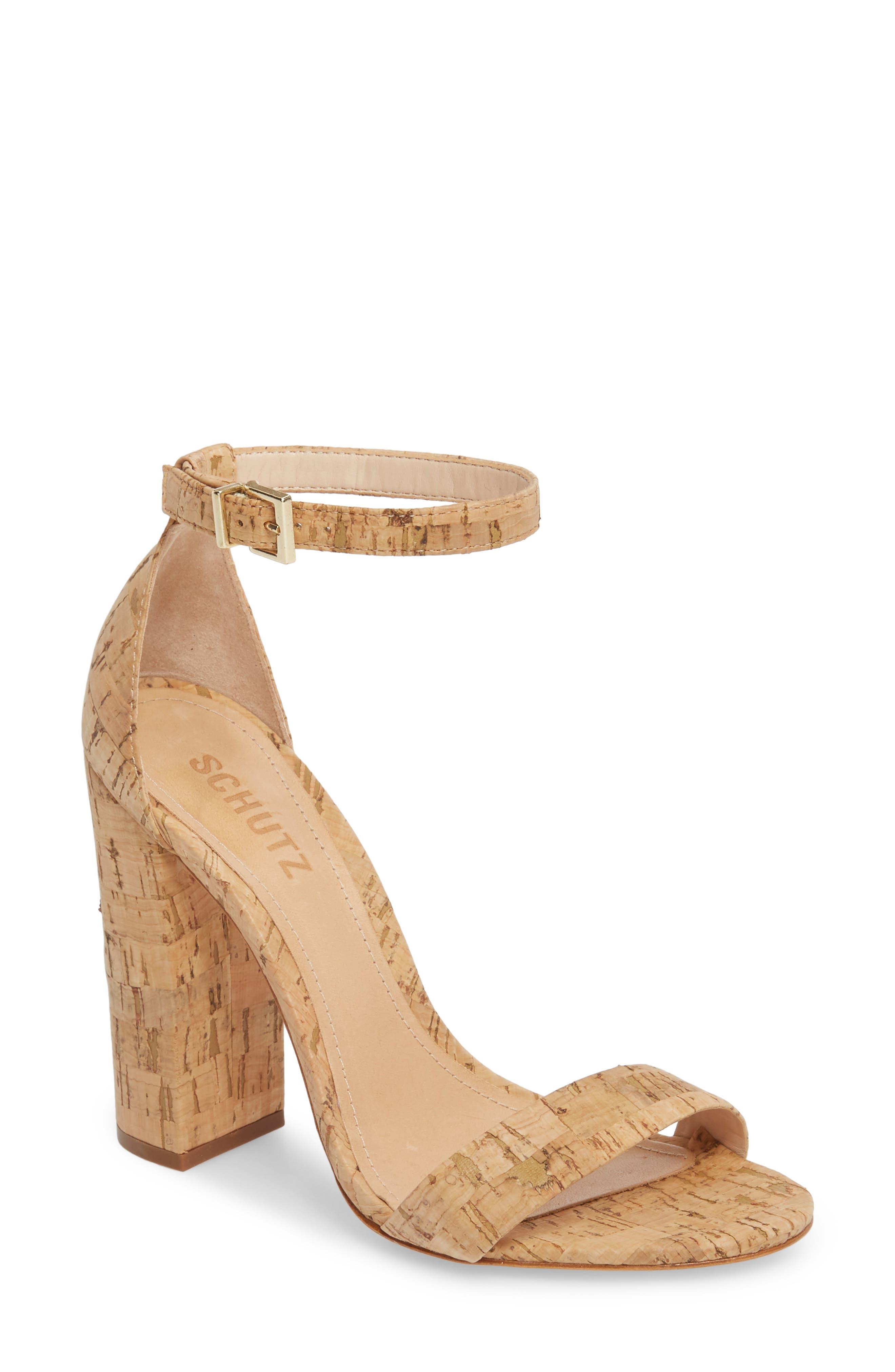 Enida Sandal,                         Main,                         color, CORK