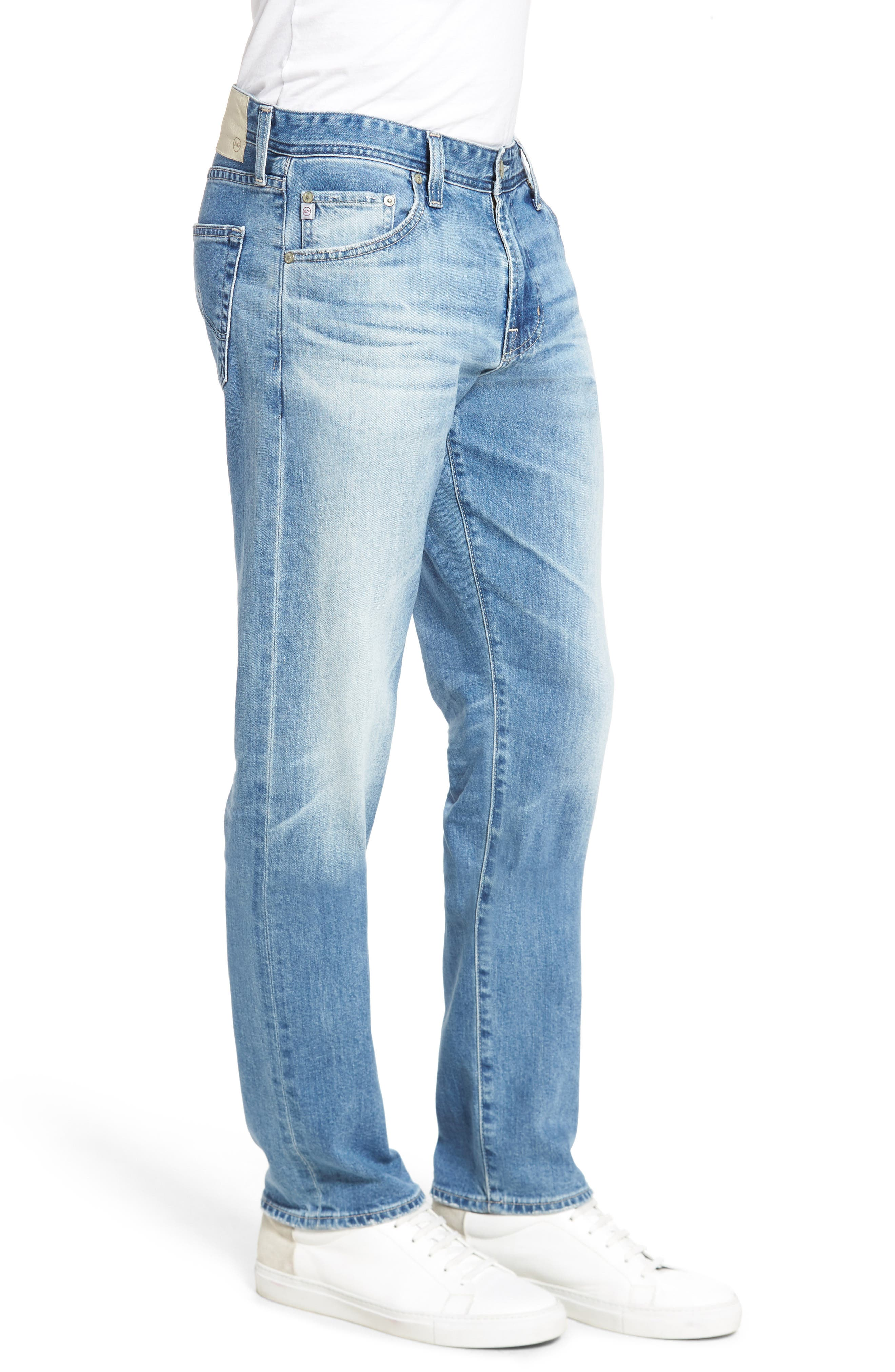 Graduate Slim Straight Leg Jeans,                             Alternate thumbnail 6, color,