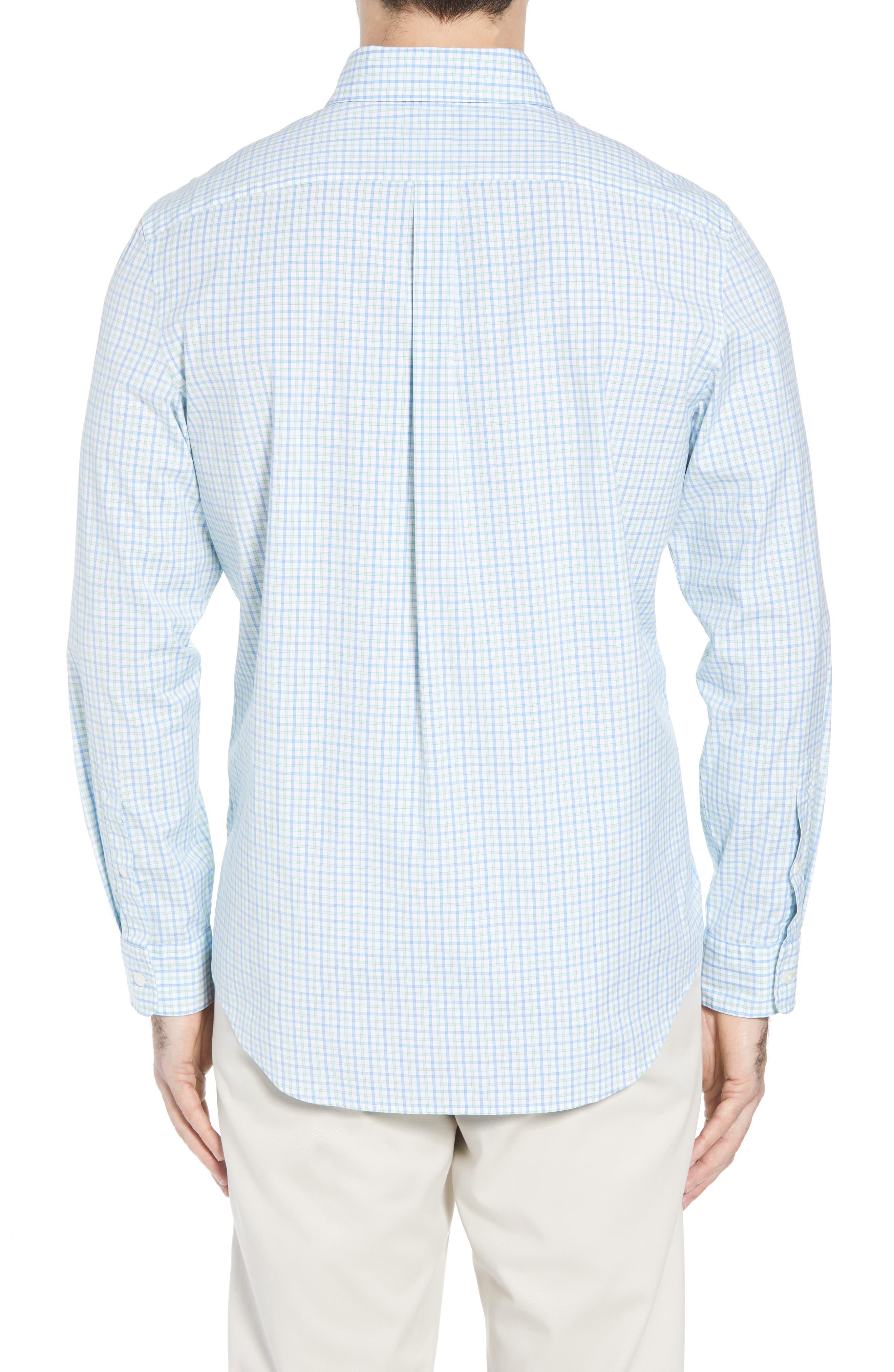 Clark Cove Tucker Classic Fit Check Sport Shirt,                             Alternate thumbnail 2, color,                             305