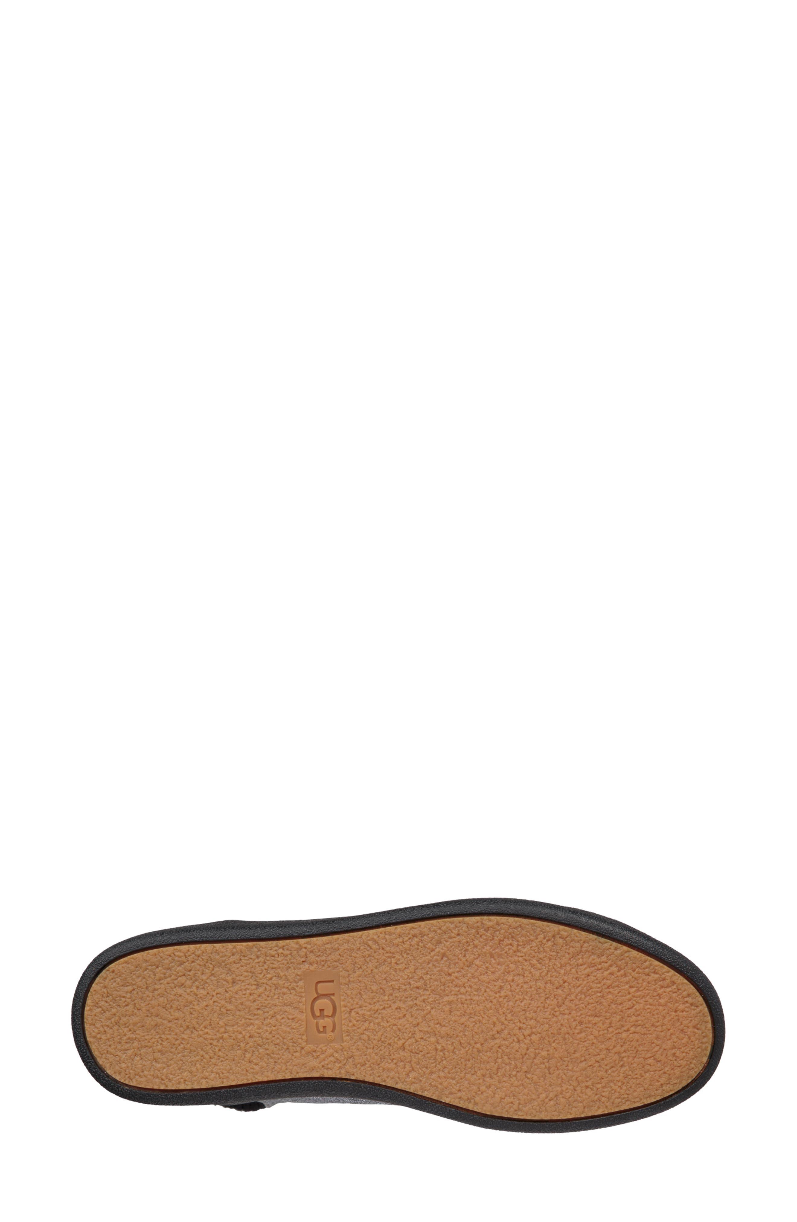 Olive Glitter Sneaker,                             Alternate thumbnail 5, color,                             GUNMETAL FABRIC