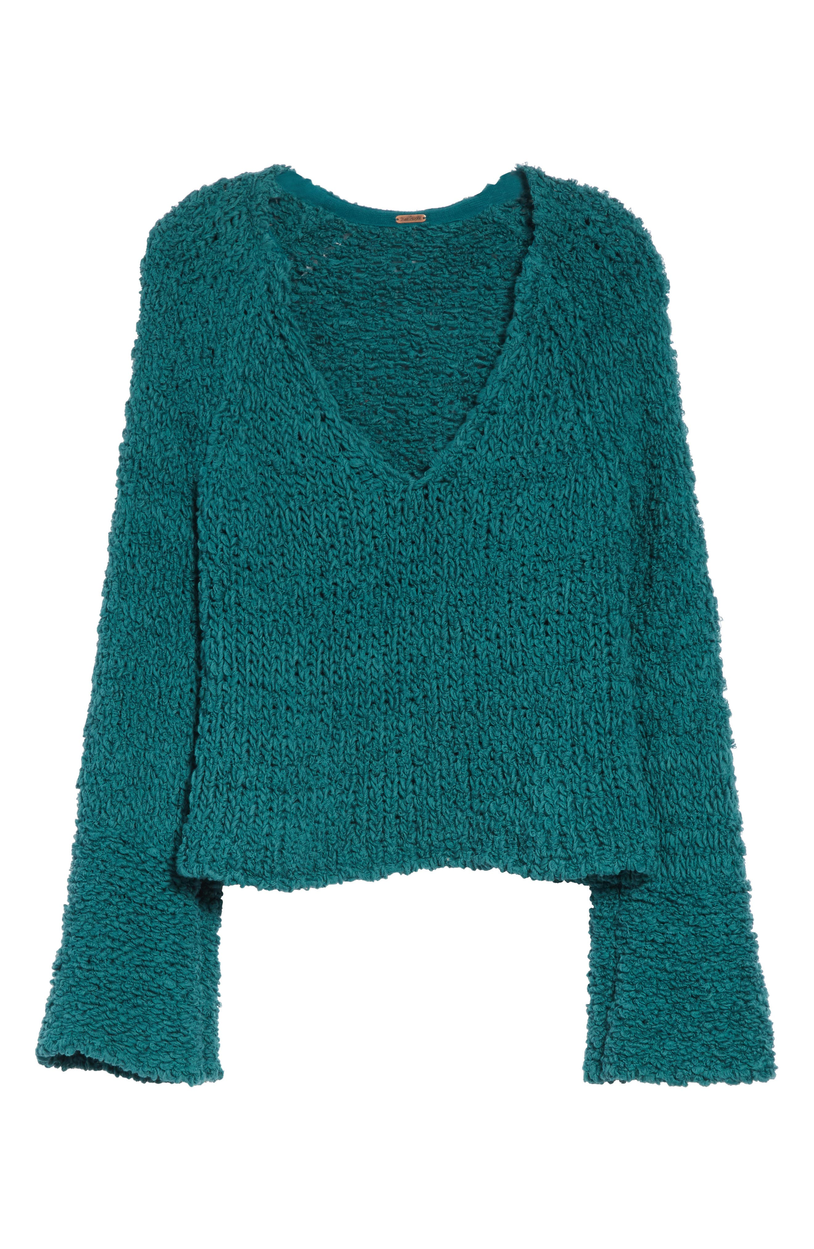 FREE PEOPLE,                             Sand Dune Sweater,                             Alternate thumbnail 6, color,                             300