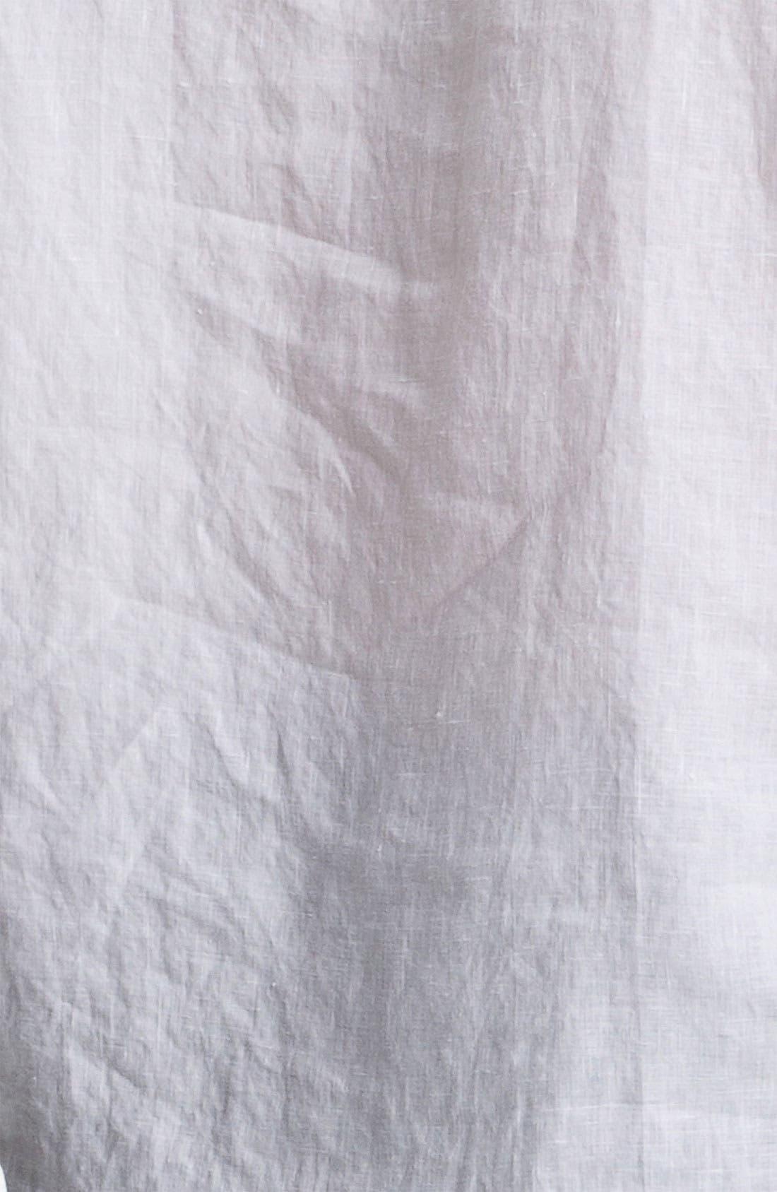 Ballet Neck Three Quarter Roll Sleeve Top,                             Alternate thumbnail 7, color,