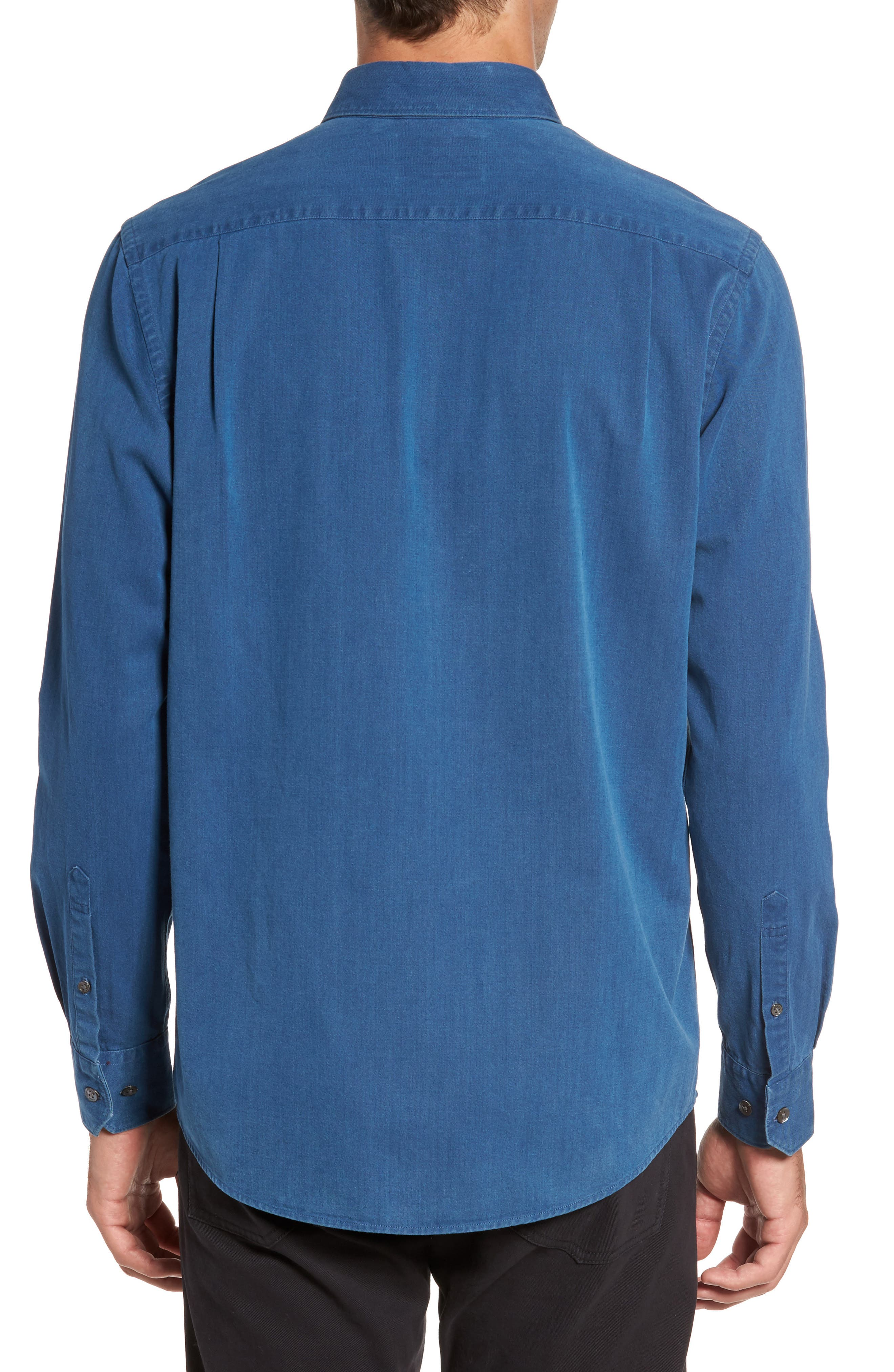 Bayswater Sports Fit Sport Shirt,                             Alternate thumbnail 2, color,                             411