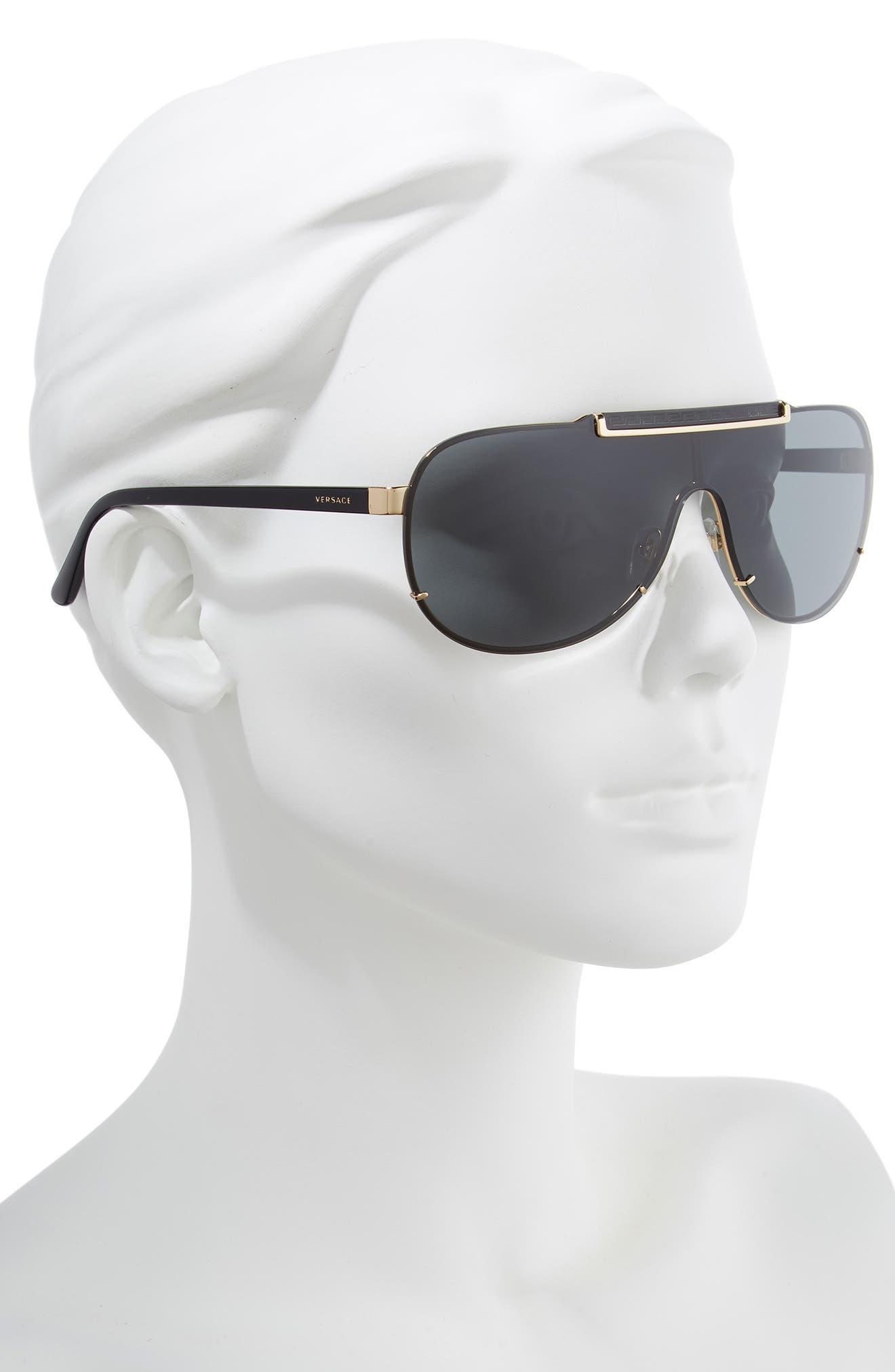 40mm Shield Sunglasses,                             Alternate thumbnail 2, color,                             007