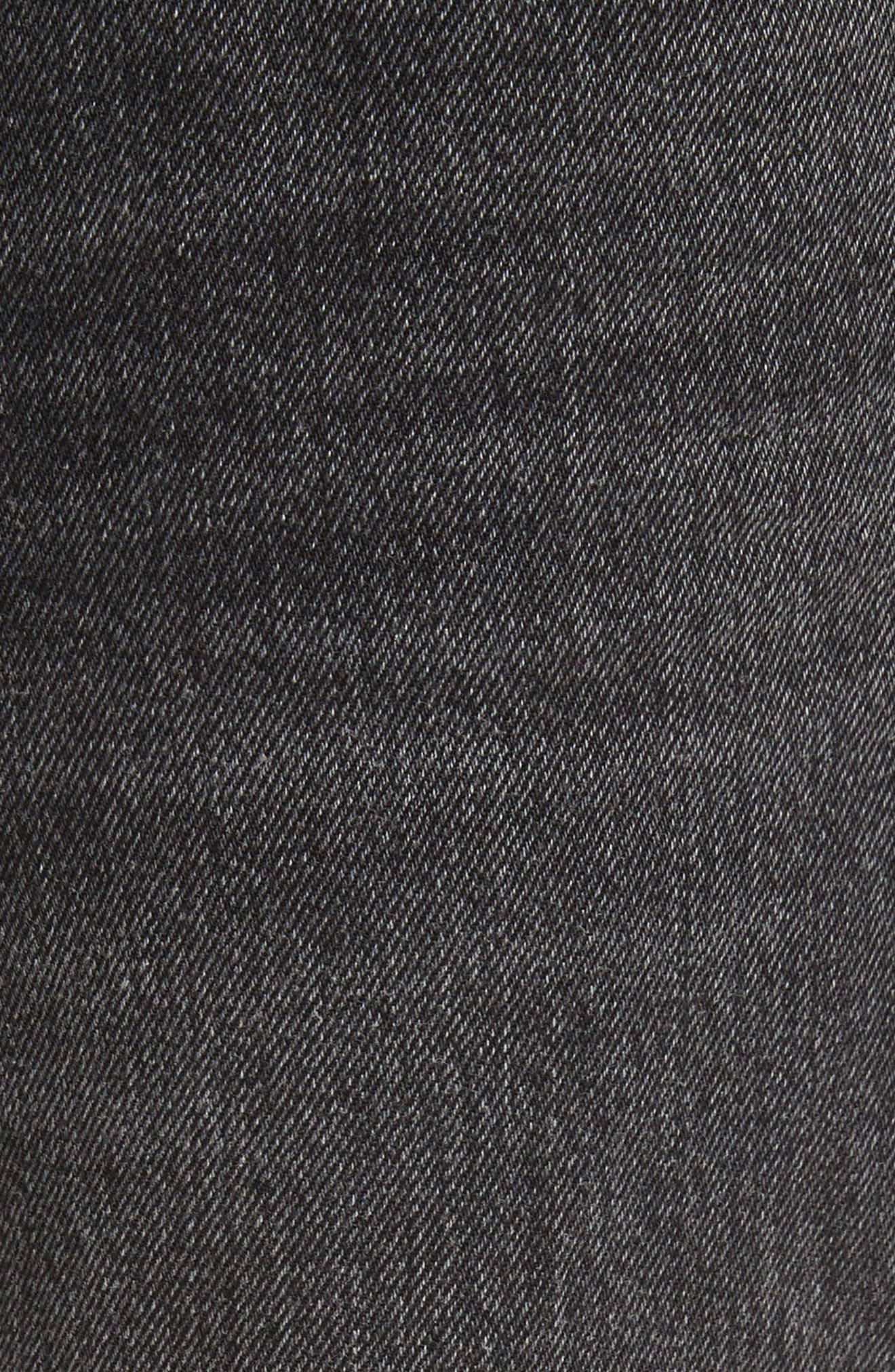 Denim x Alexander Wang Hybrid Sweatpants Jeans,                             Alternate thumbnail 5, color,