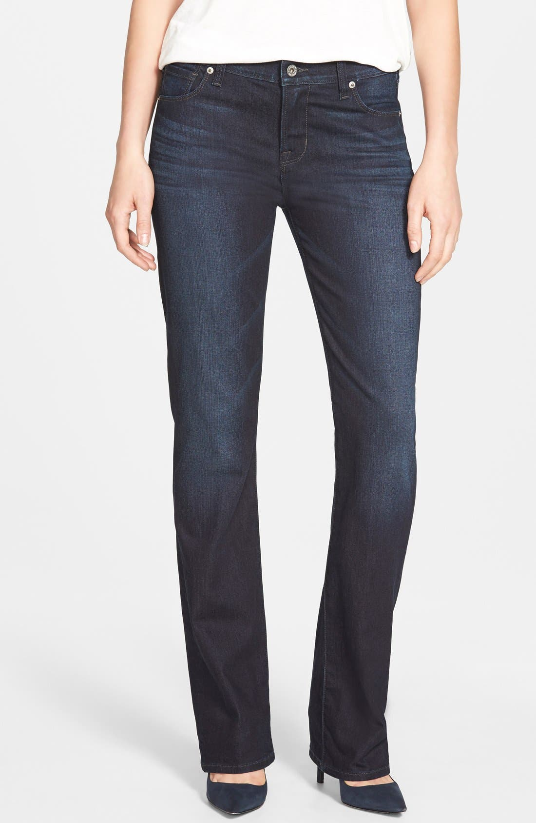 'Brooke' Stretch Bootcut Jeans,                             Main thumbnail 1, color,                             410