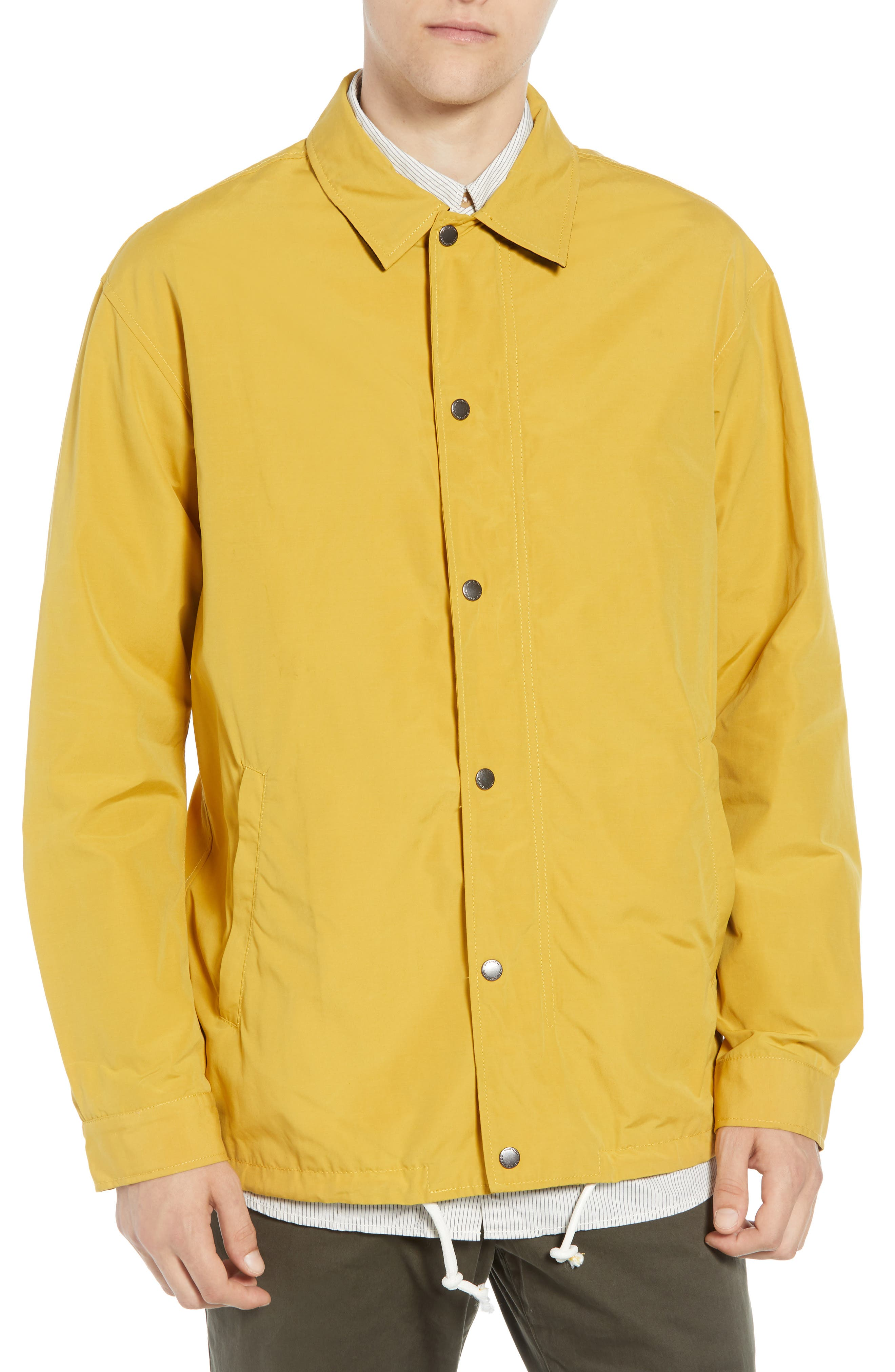 FRENCH CONNECTION,                             Waxed Coach's Jacket,                             Alternate thumbnail 4, color,                             700
