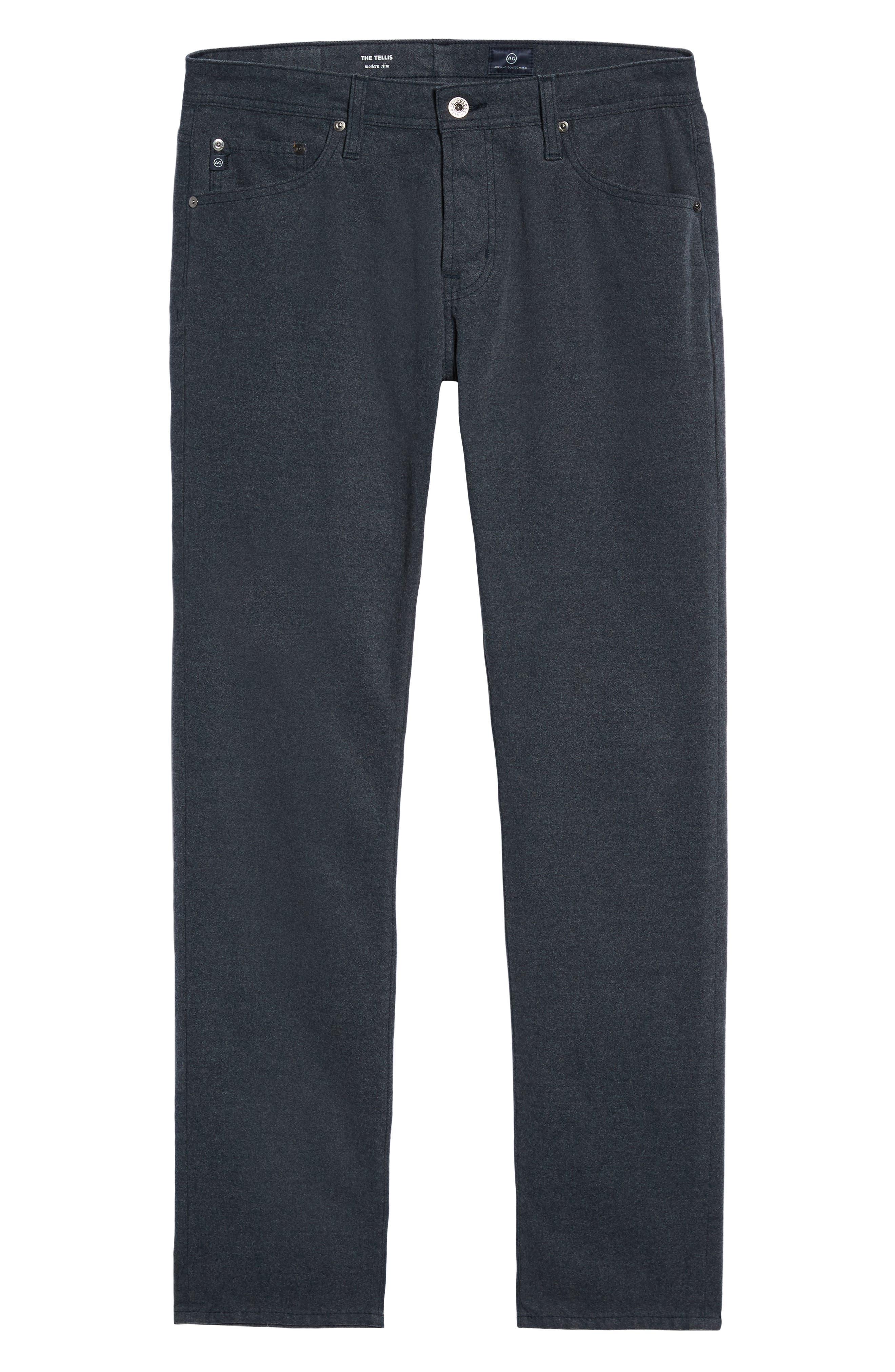 Tellis Slim Fit Five-Pocket Pants,                             Alternate thumbnail 24, color,