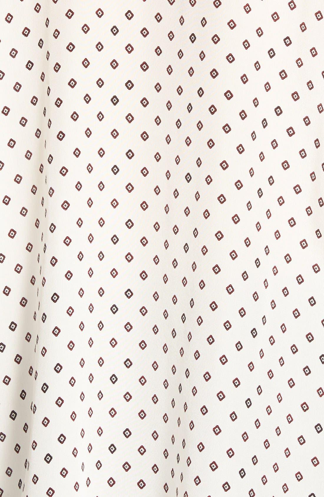 MADEWELL,                             'Foulard Dot' Silk Courier Shirt,                             Alternate thumbnail 3, color,                             900