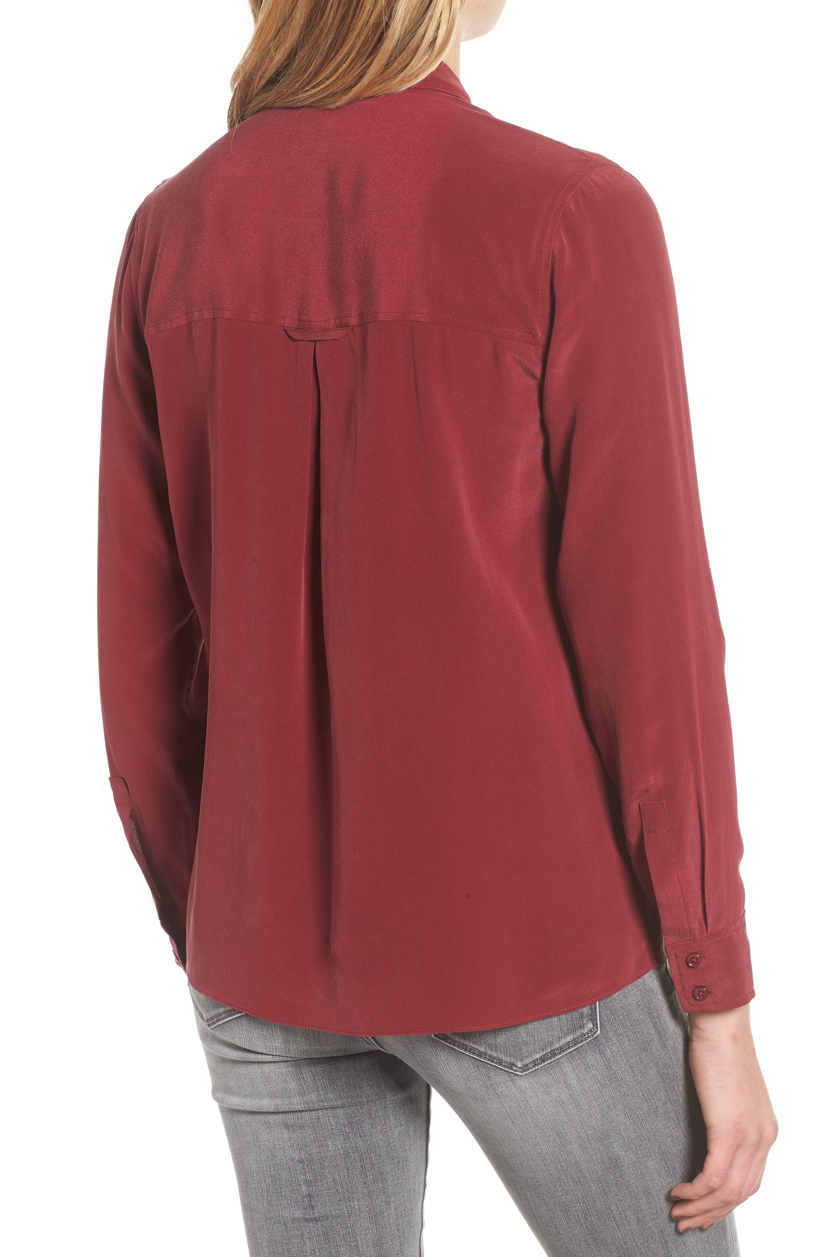 Rhett Silk Shirt,                             Alternate thumbnail 2, color,                             930