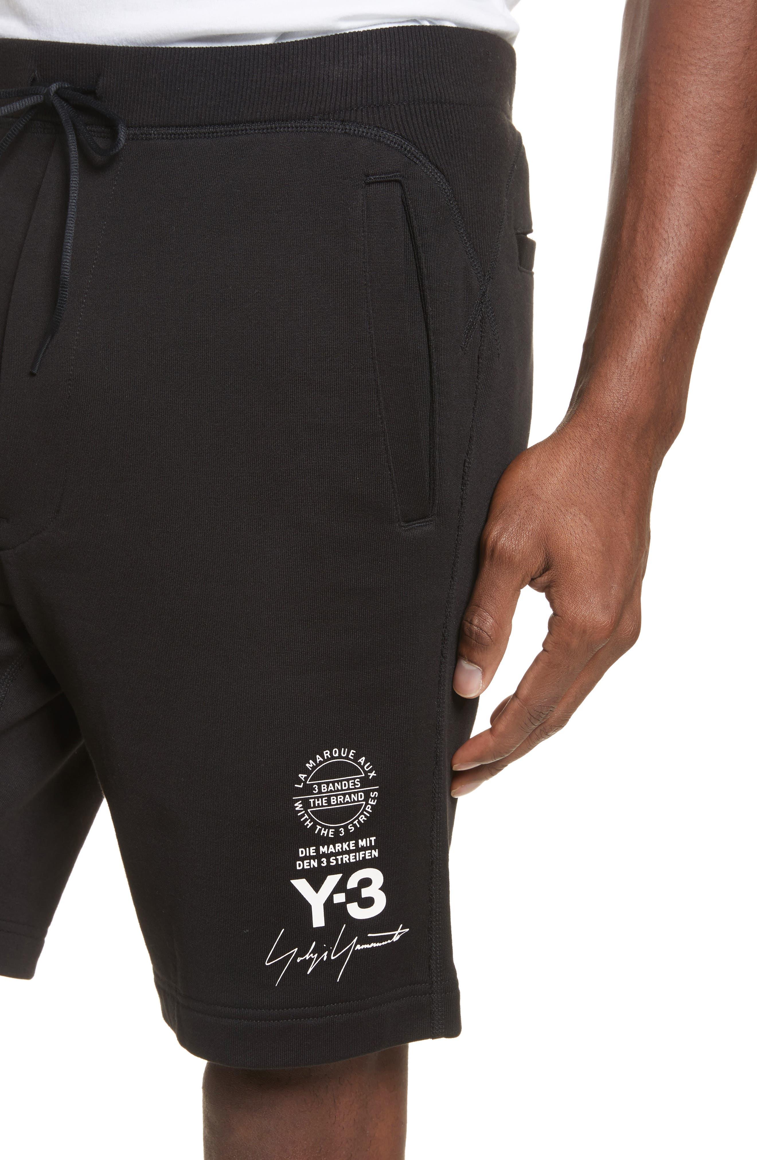 x adidas Track Shorts,                             Alternate thumbnail 4, color,                             001