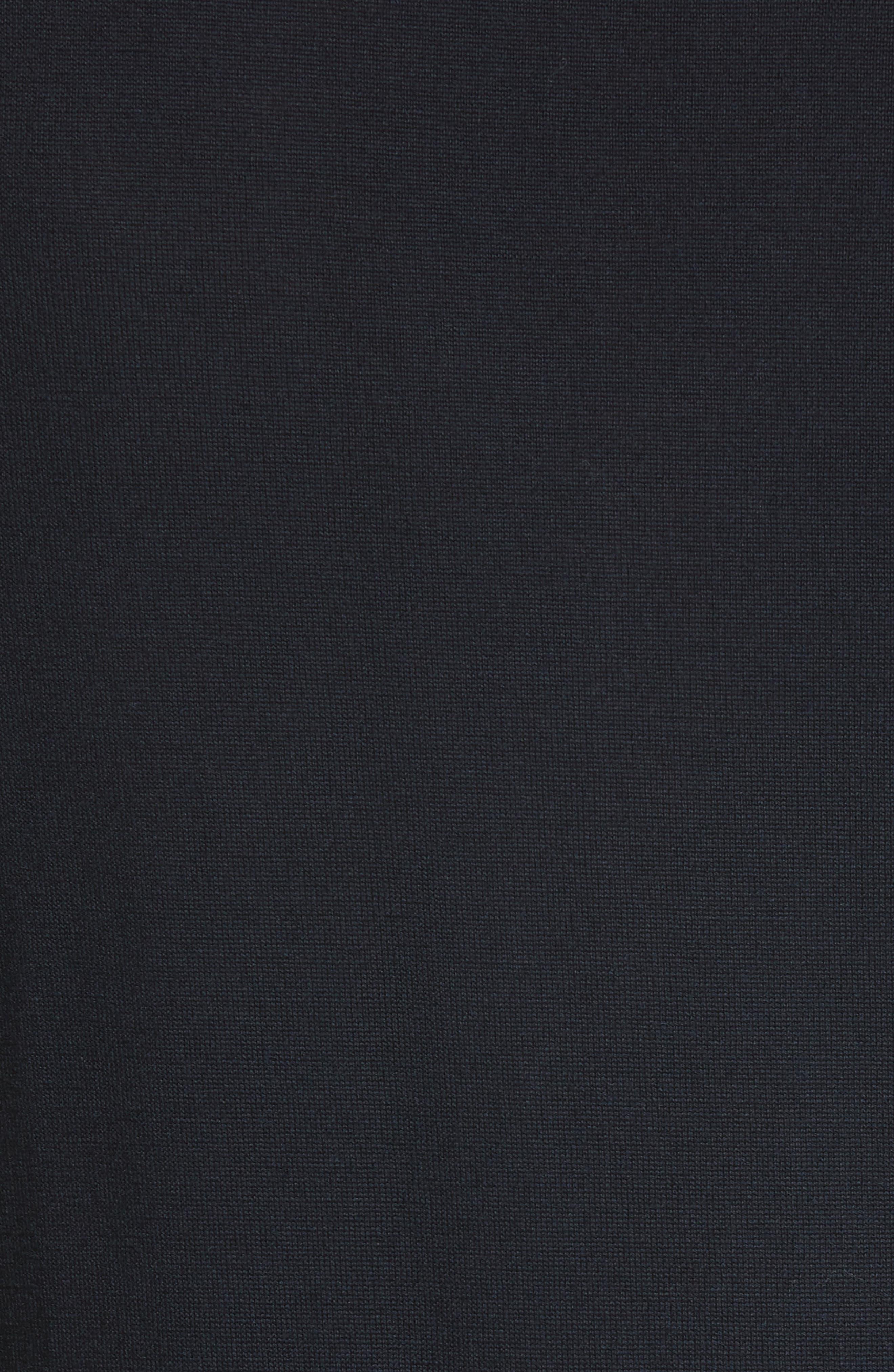 Merino Wool Long Sleeve Polo,                             Alternate thumbnail 5, color,                             410
