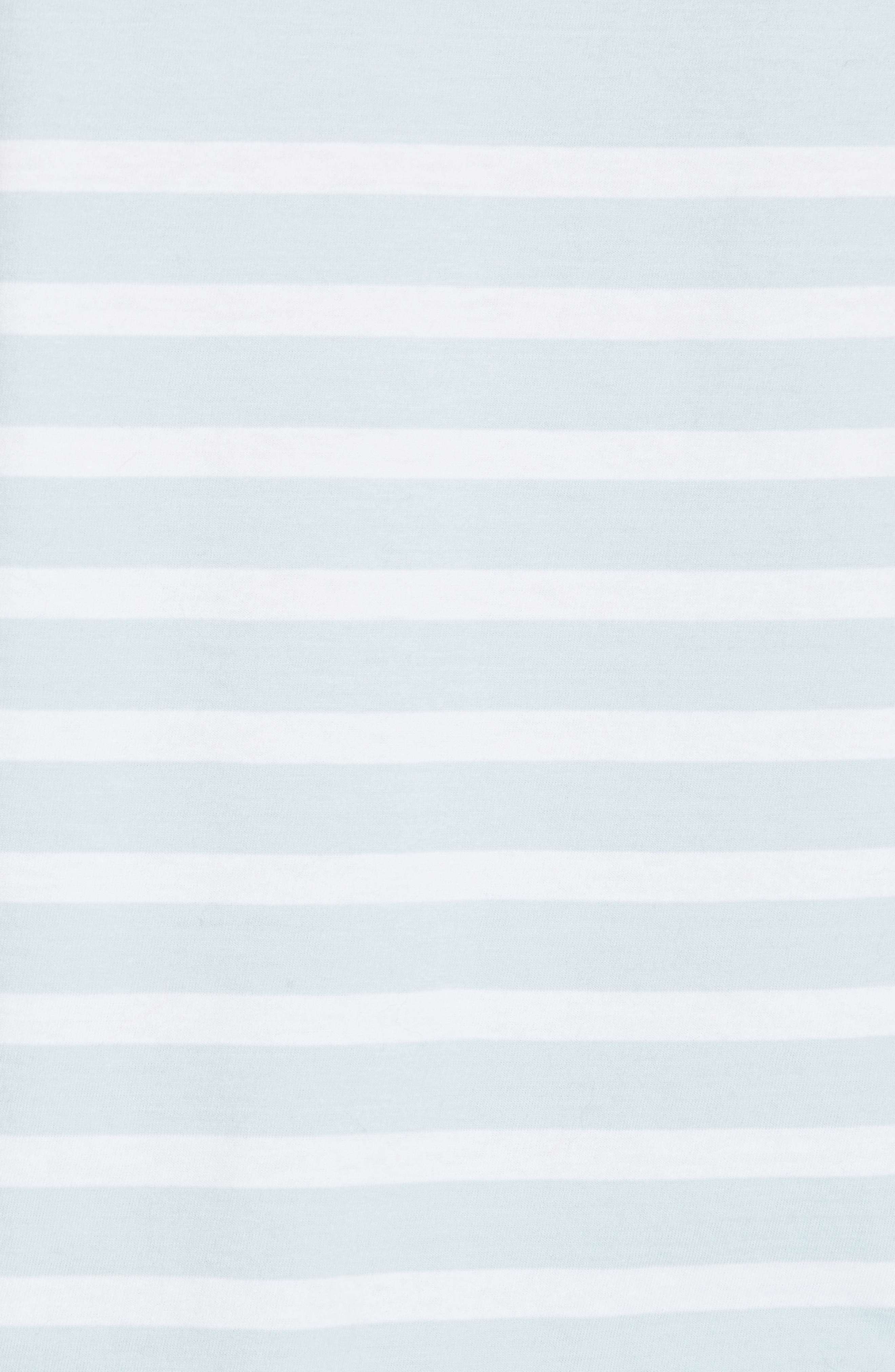 Lean Lines Tee,                             Alternate thumbnail 5, color,                             LIGHT BLUE/ WHITE STRIPES
