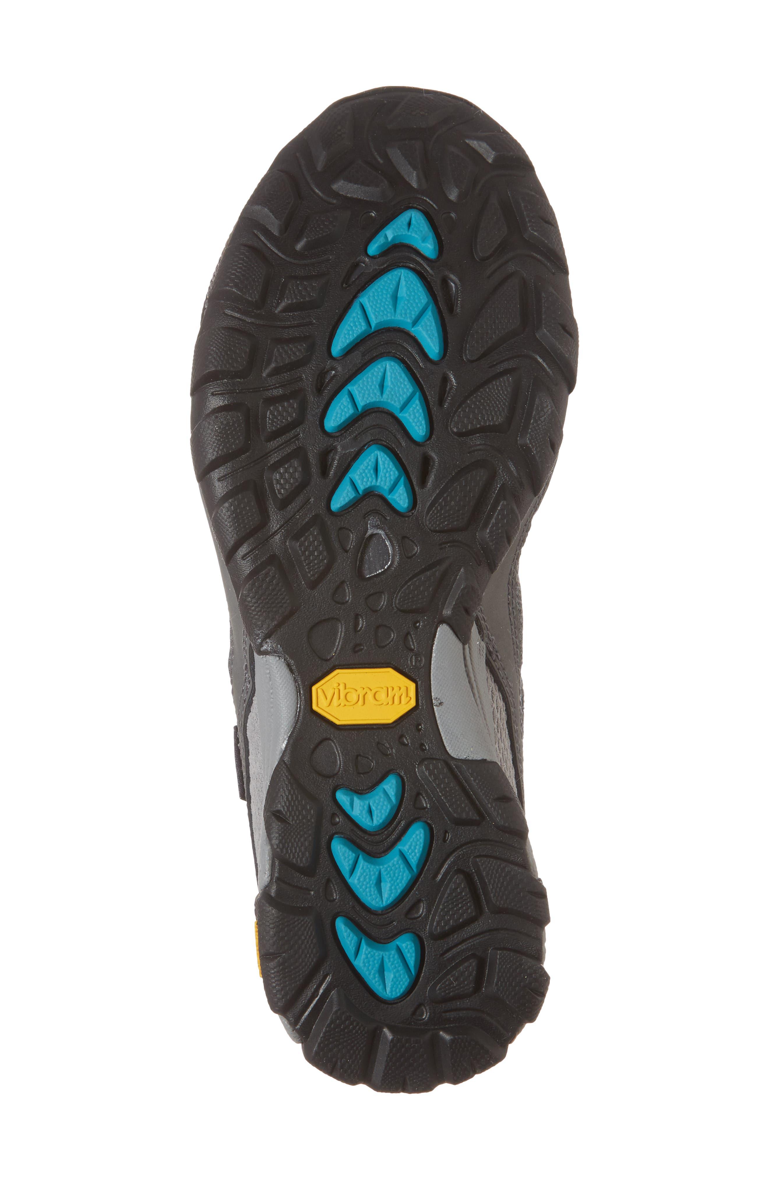 Ahnu by Teva Sugarpine II Air Mesh Hiking Waterproof Sneaker,                             Alternate thumbnail 6, color,                             025