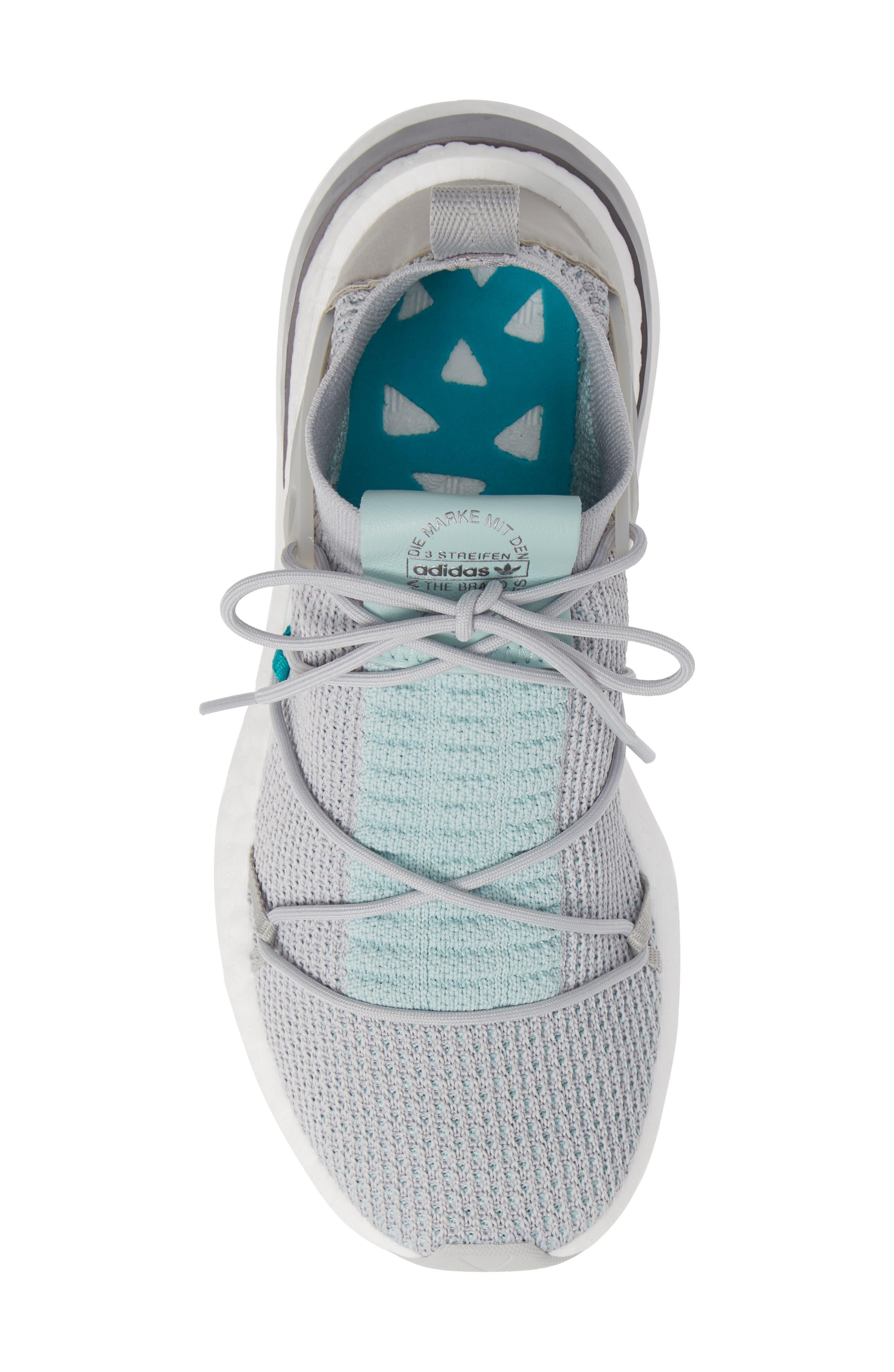 Arkyn Primeknit Sneaker,                             Alternate thumbnail 5, color,                             GREY TWO/ GREY TWO/ ASH GREEN