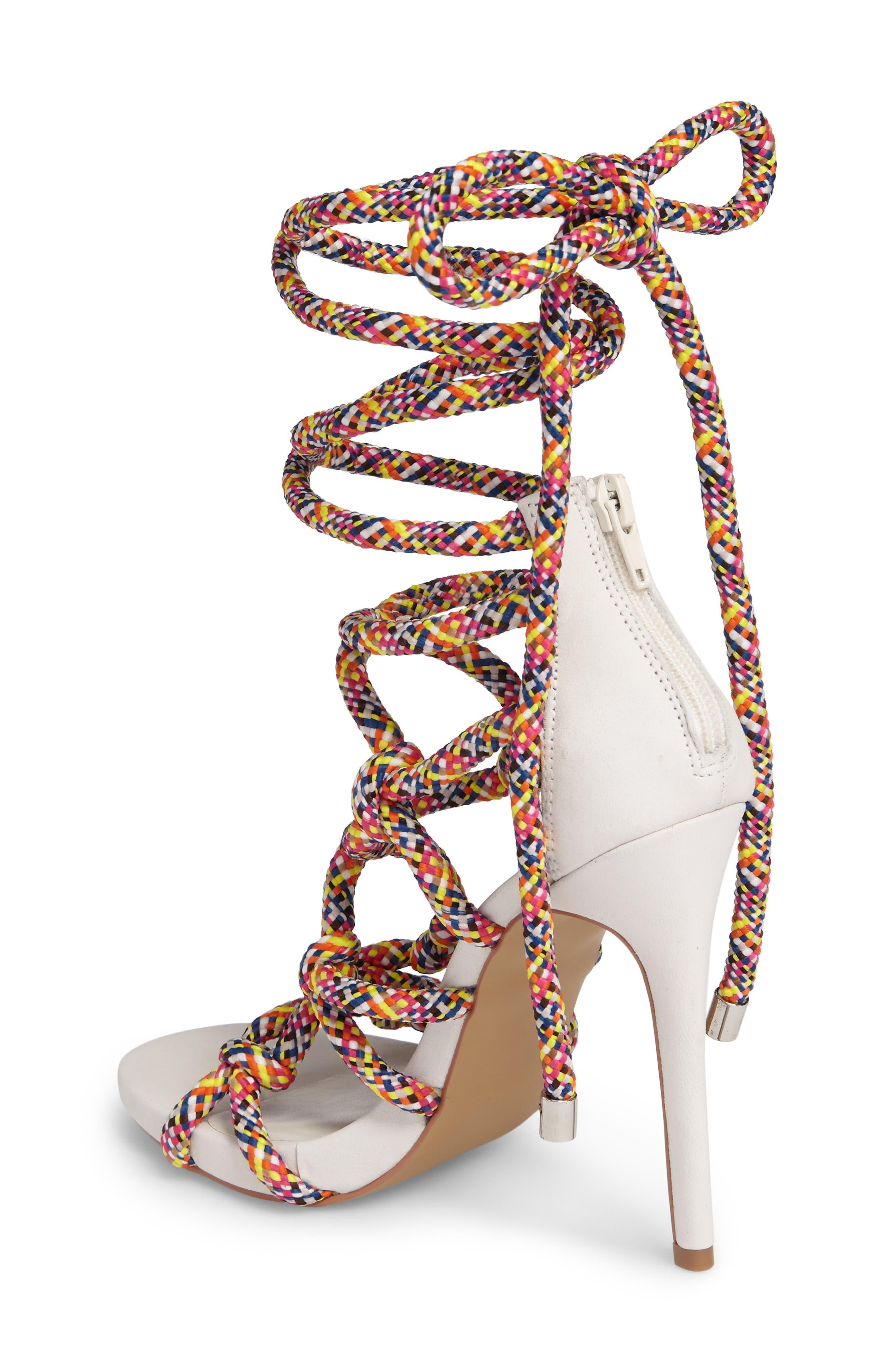 Dream Ankle Tie Sandal,                             Alternate thumbnail 7, color,