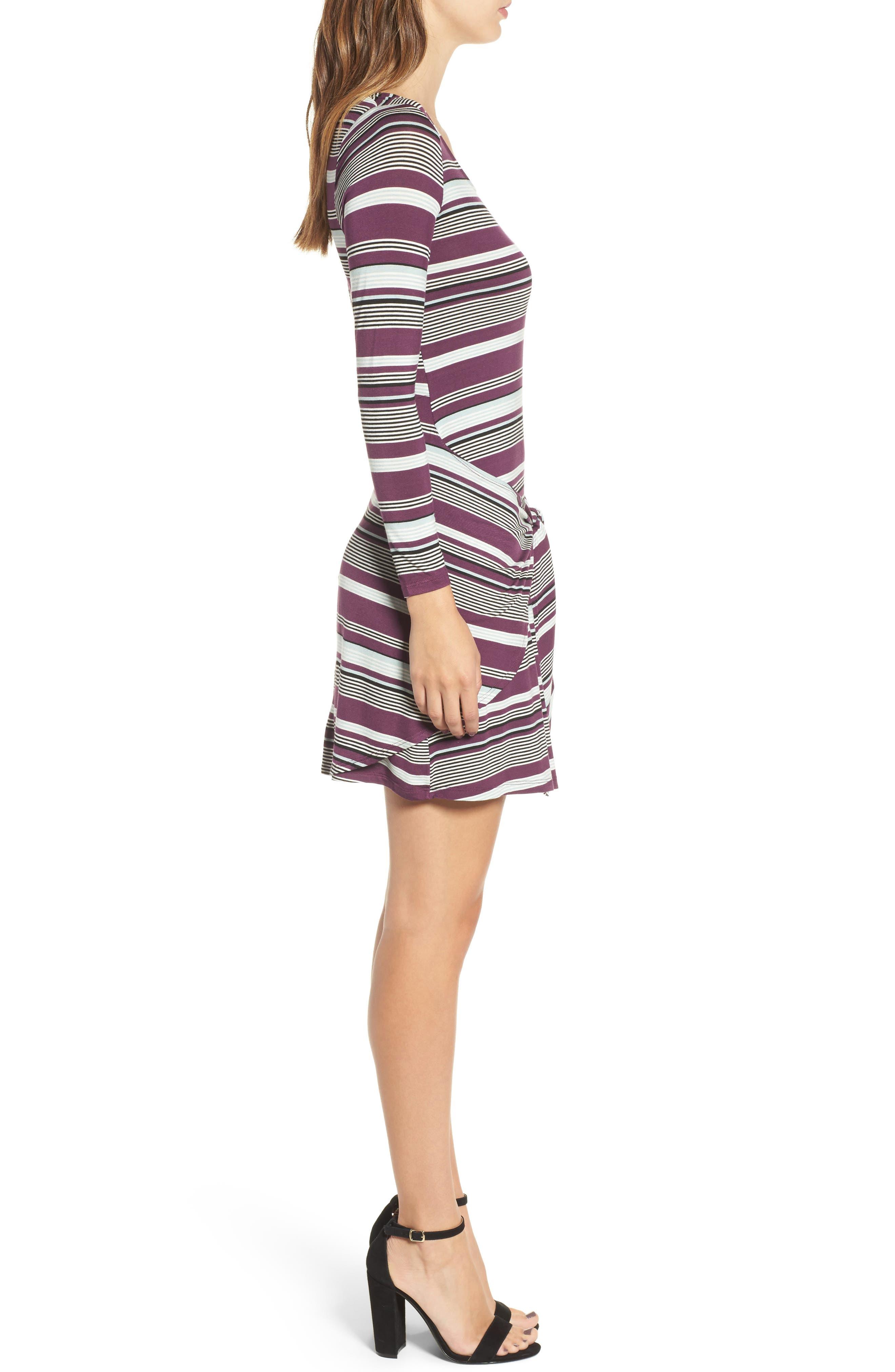 Tie Waist Dress,                             Alternate thumbnail 6, color,