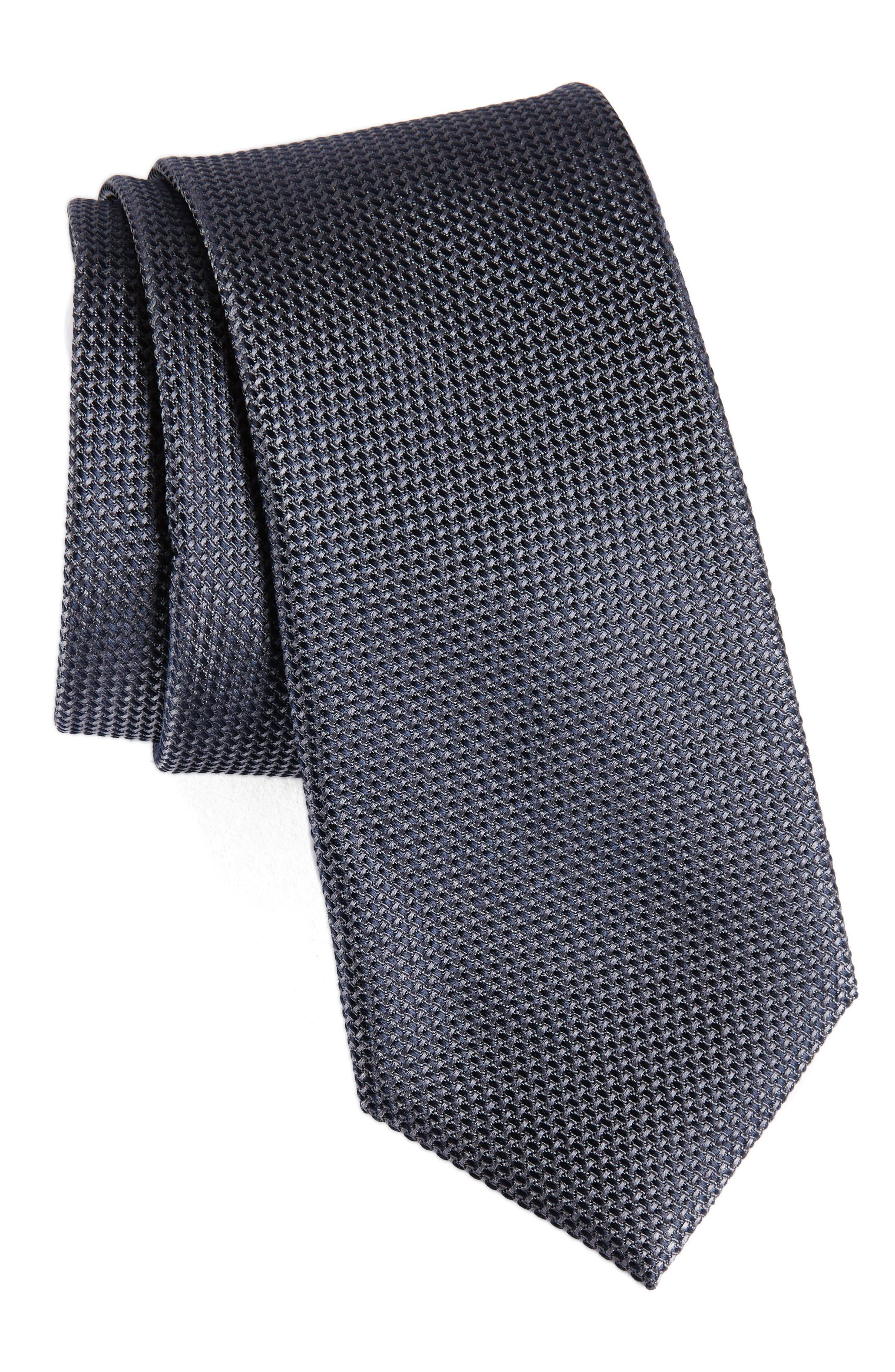 Solid Silk Tie,                             Main thumbnail 1, color,                             025