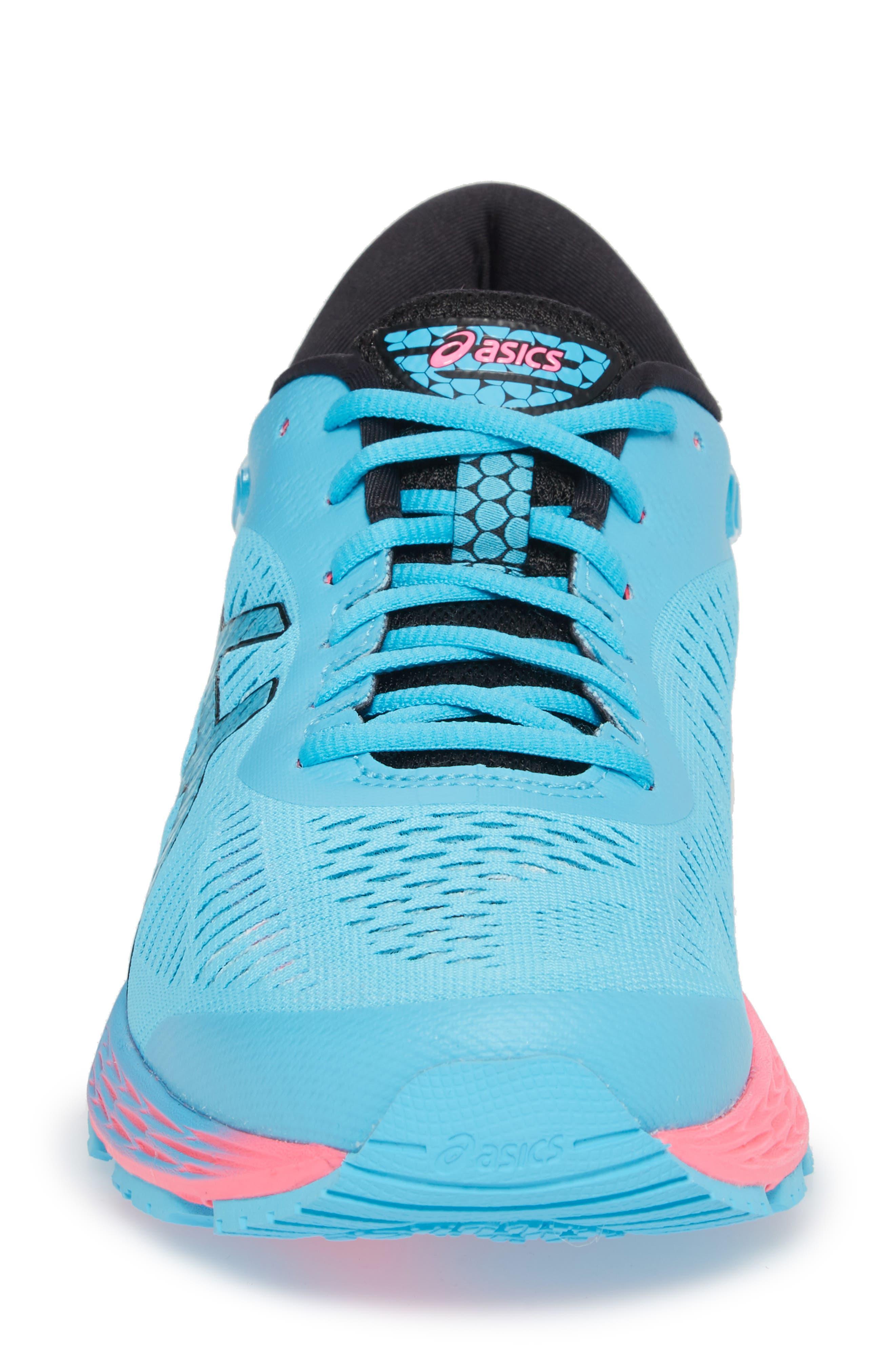GEL-Kayano<sup>®</sup> 25 Running Shoe,                             Alternate thumbnail 4, color,                             AQUARIUM/ BLACK