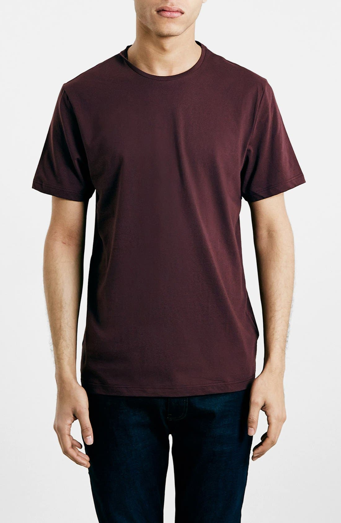 Slim Fit Crewneck T-Shirt,                             Main thumbnail 95, color,