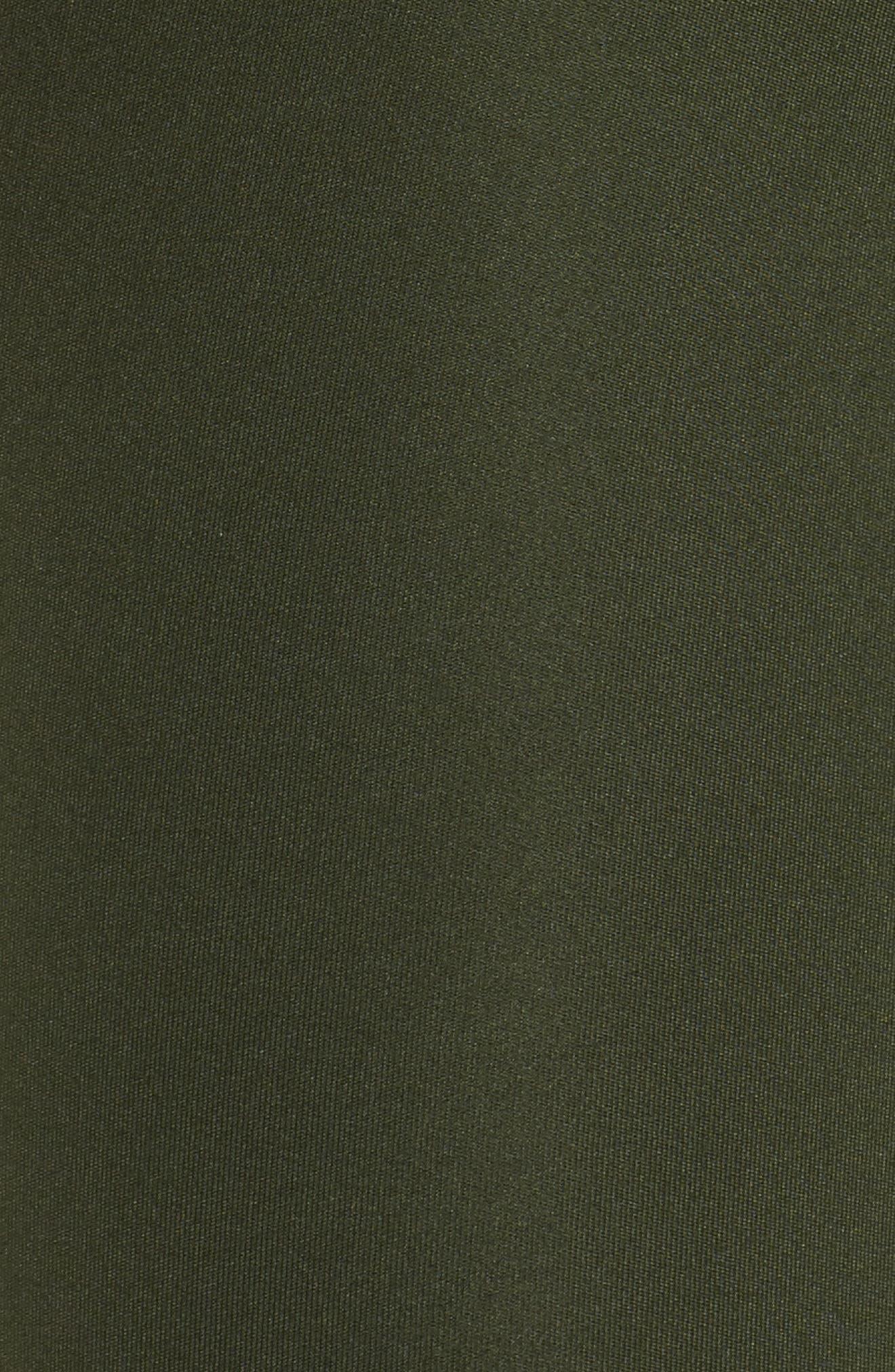 Mesh Lace-Up Leggings,                             Alternate thumbnail 6, color,                             310