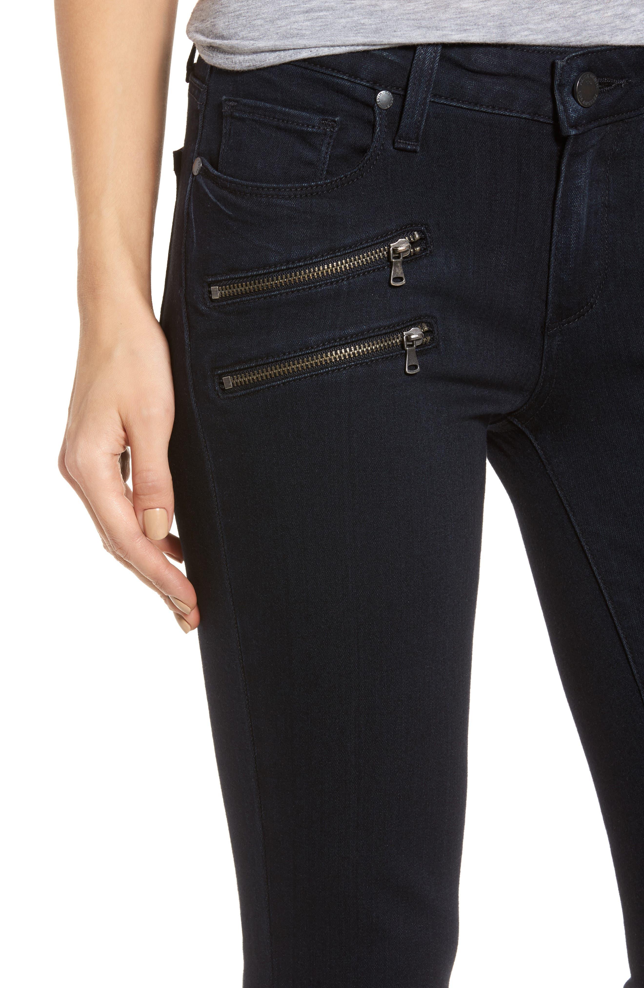 Transcend - Edgemont Ultra Skinny Jeans,                             Alternate thumbnail 4, color,                             400