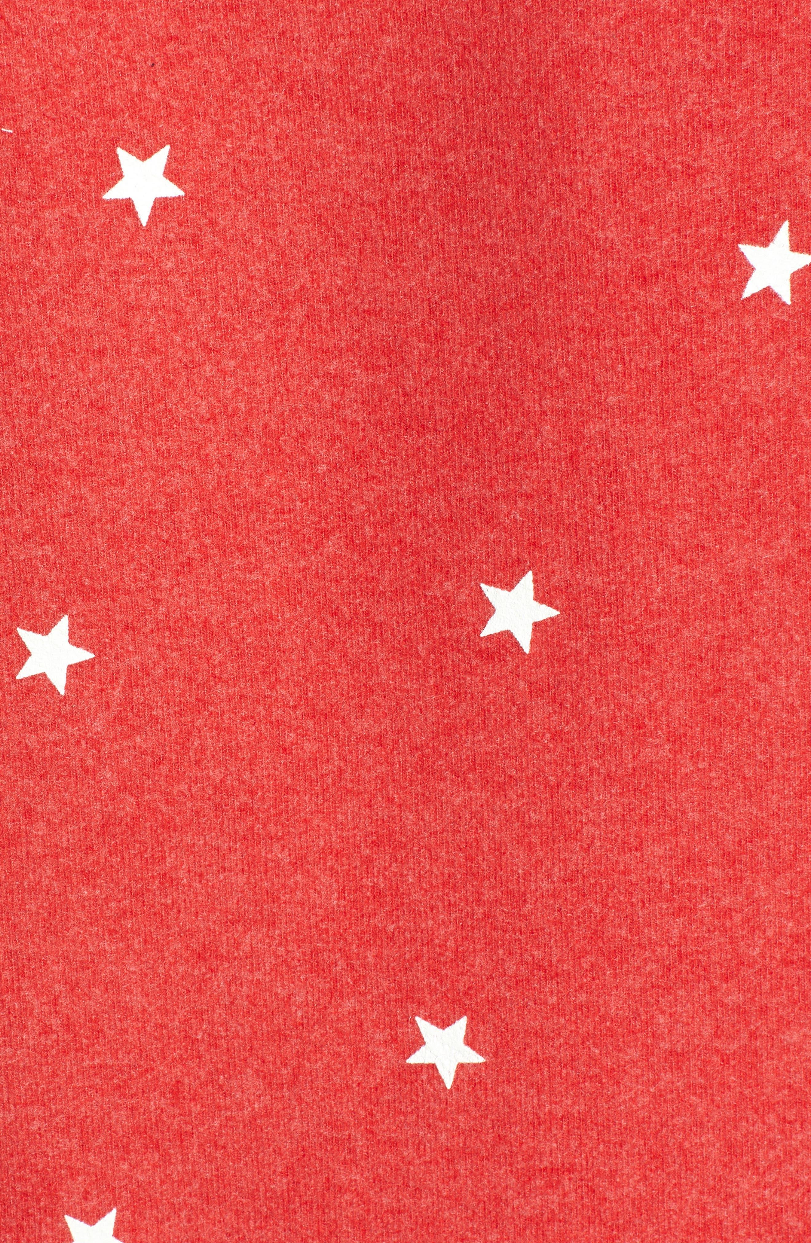 Star Baggy Beach Pullover,                             Alternate thumbnail 5, color,                             600