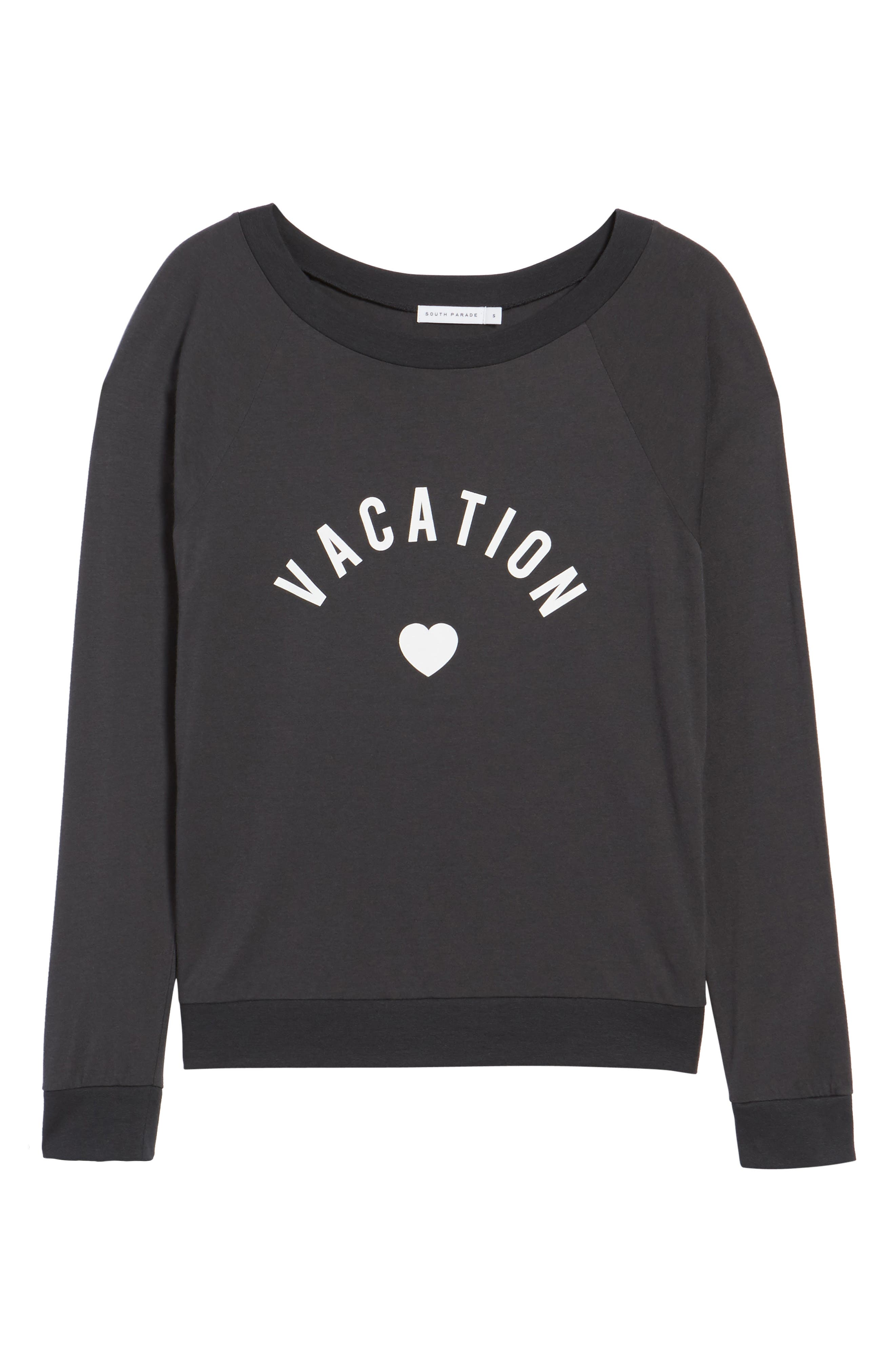 Candy - Vacation Pullover,                             Alternate thumbnail 6, color,                             BLACK