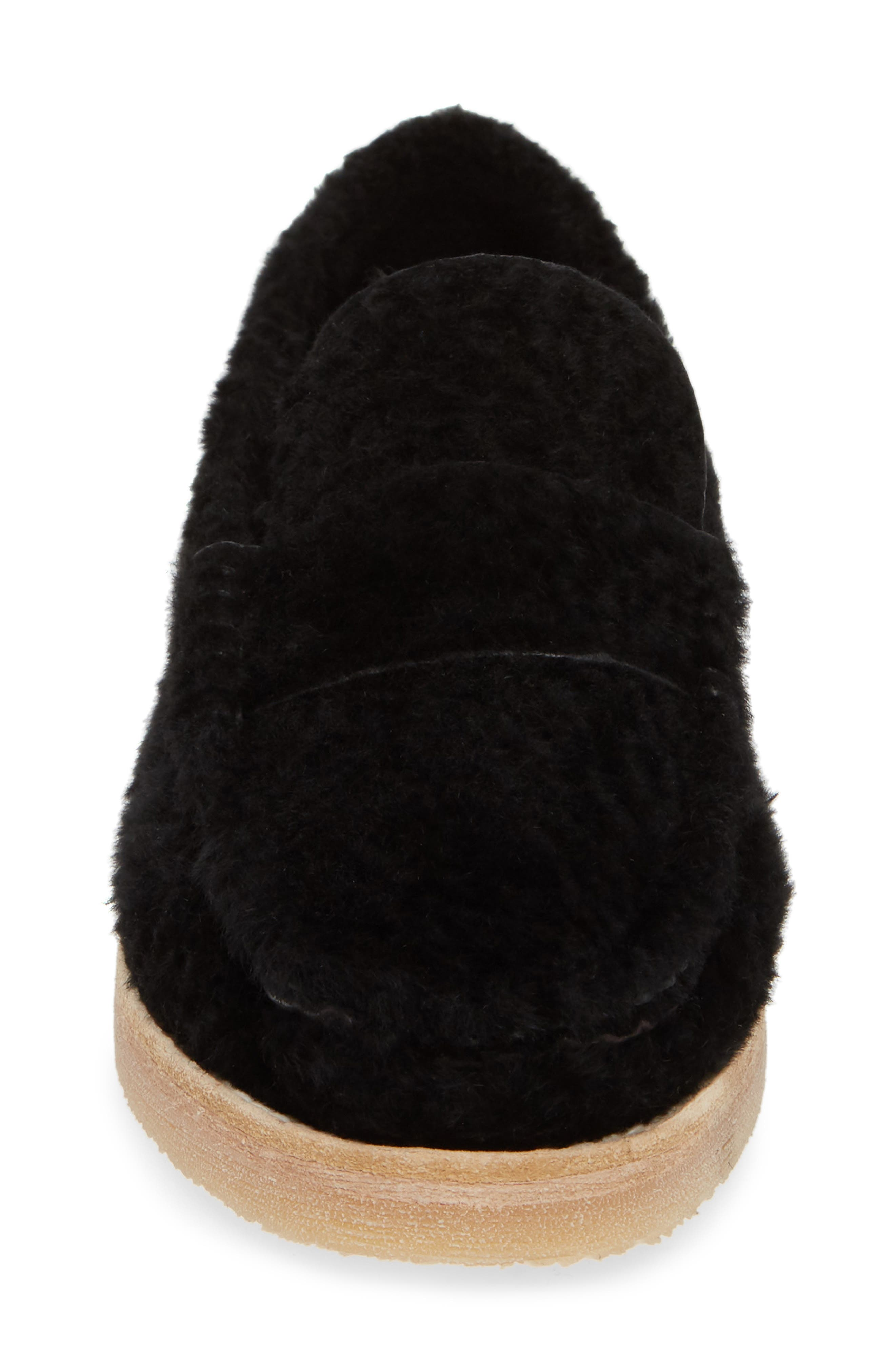 Bromley Genuine Shearling Loafer,                             Alternate thumbnail 11, color,