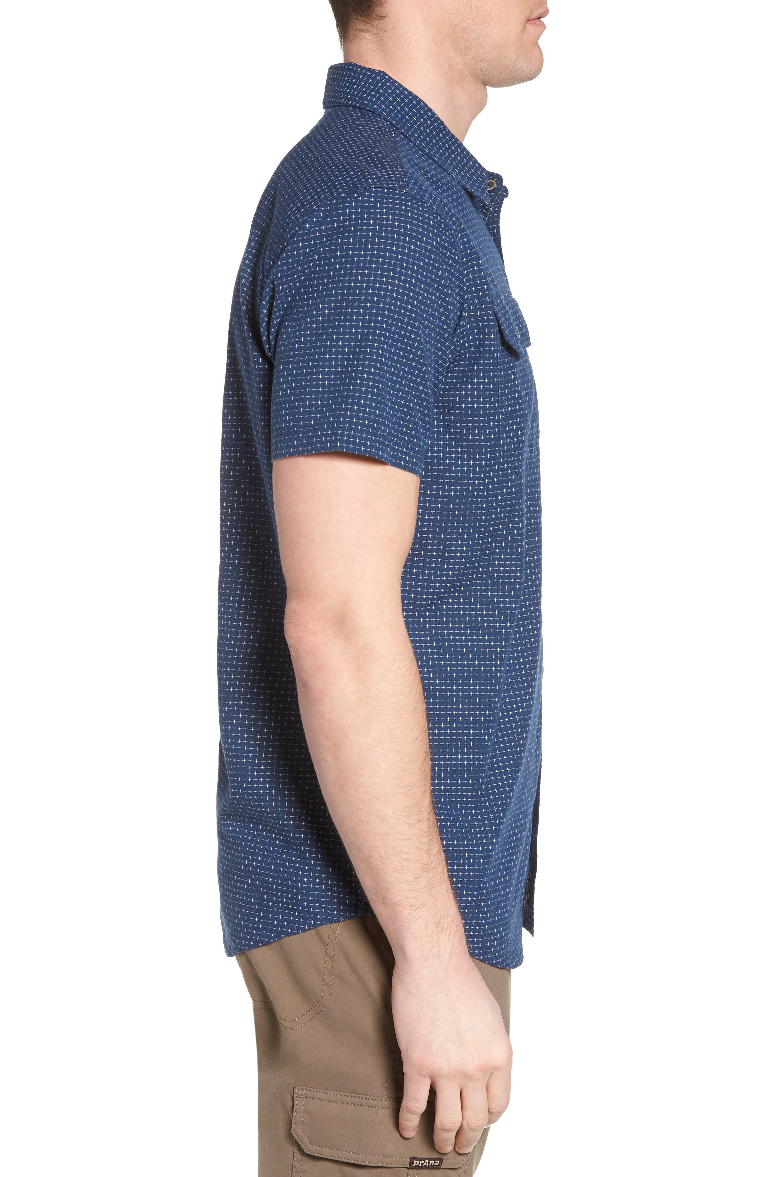 Blakely Slim Fit Short Sleeve Sport Shirt,                             Alternate thumbnail 6, color,