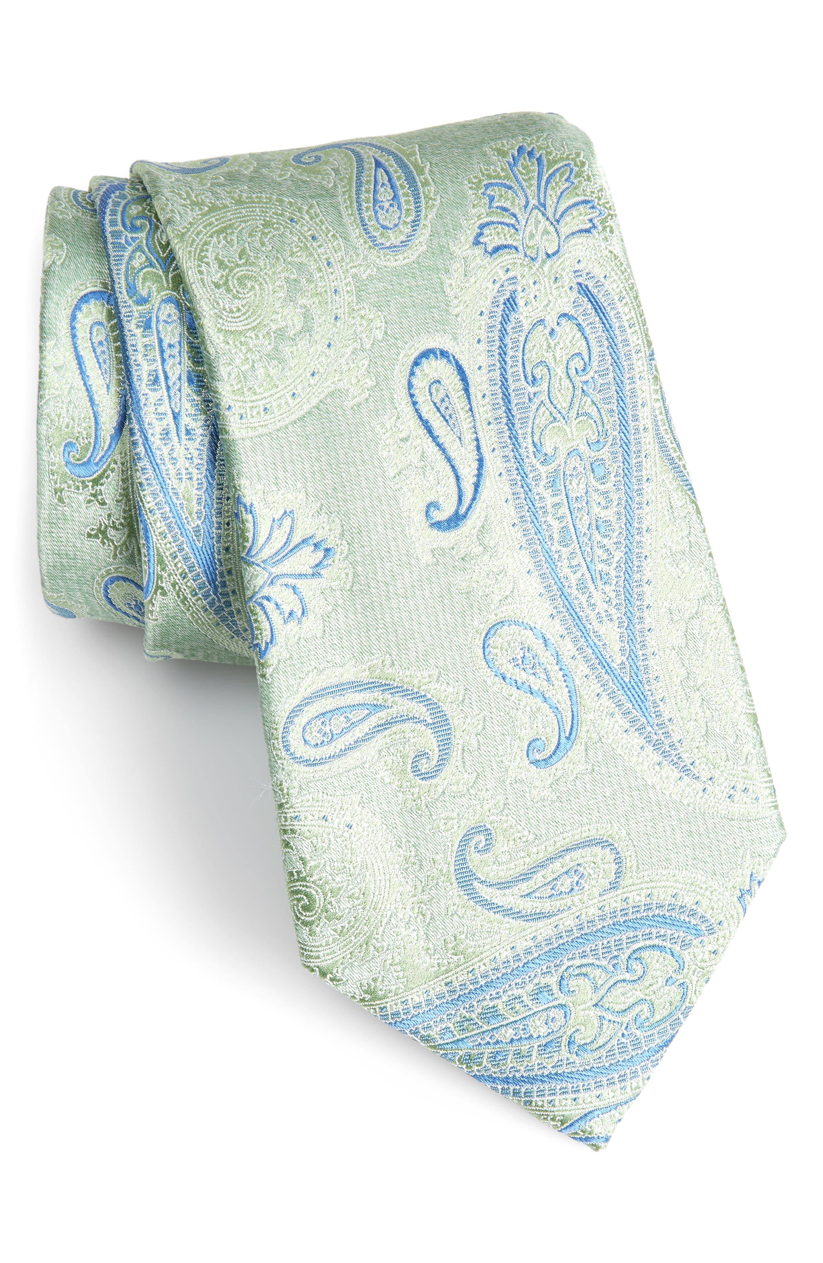 Kline Paisley Tie,                             Main thumbnail 1, color,                             300