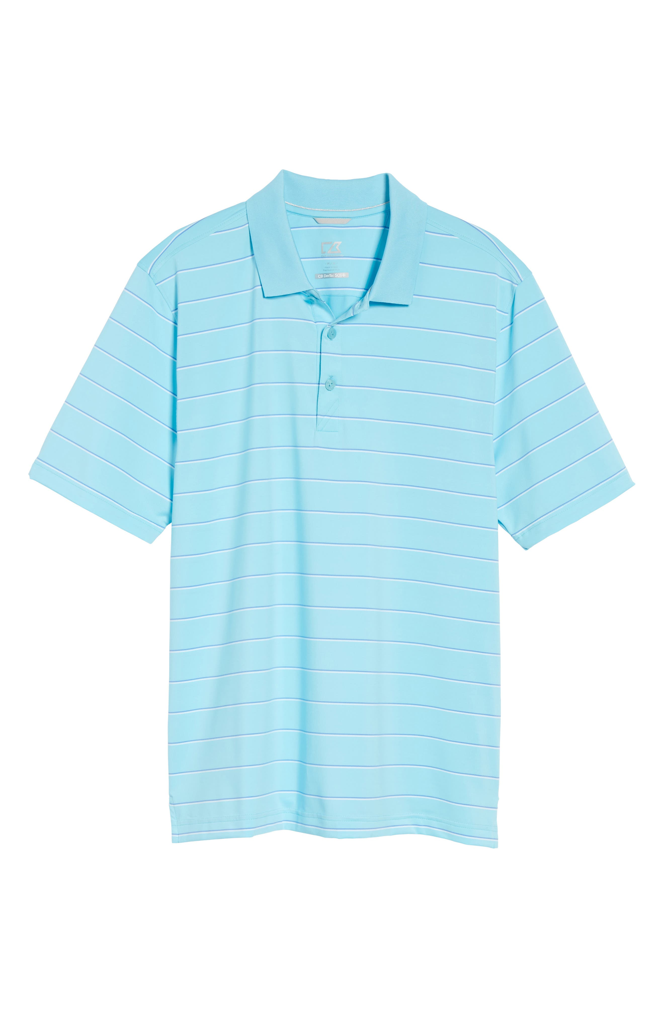 Friday Harbor Stripe Polo,                             Alternate thumbnail 6, color,                             449
