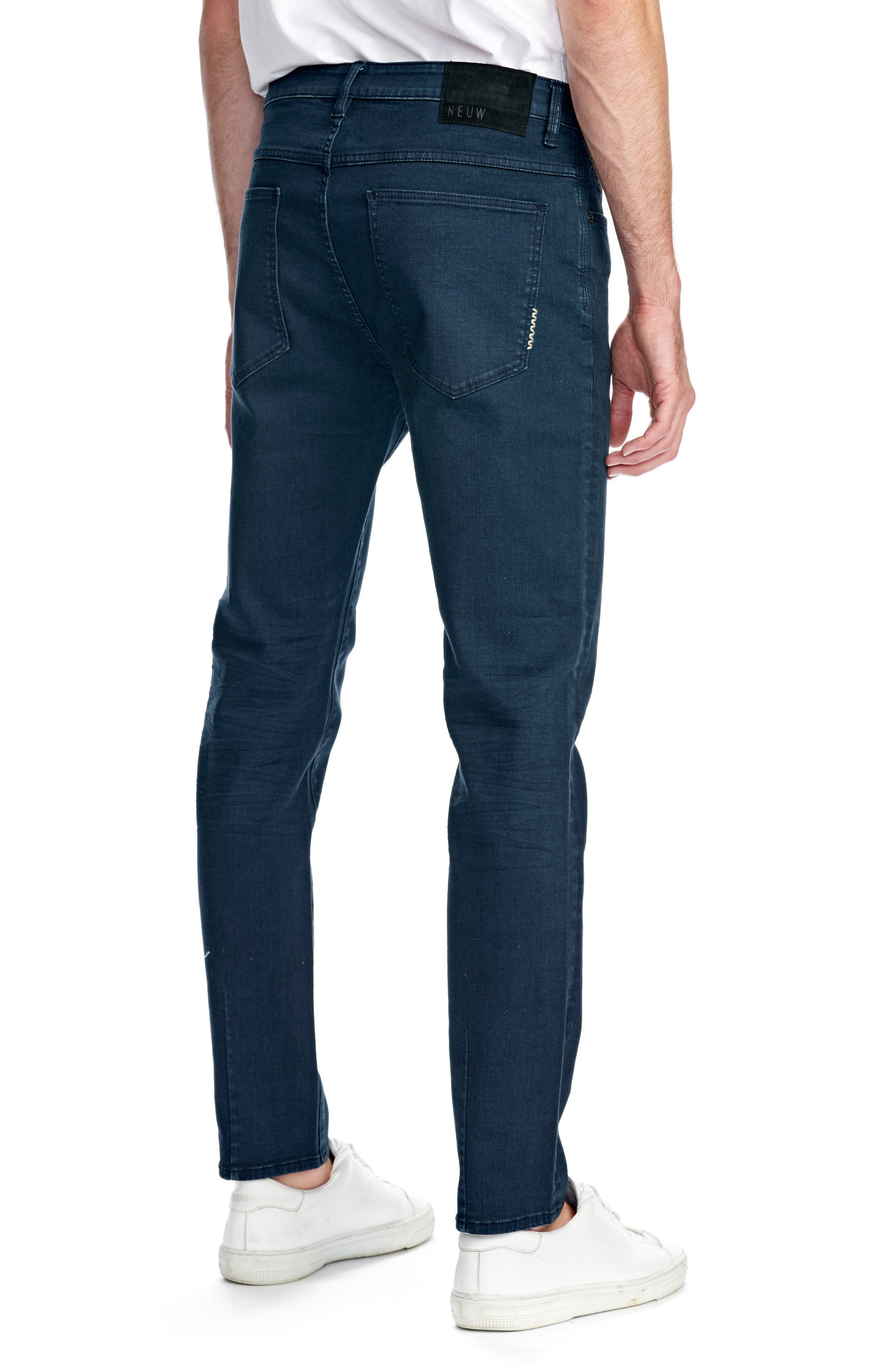 Ray Slim Fit Jeans,                             Alternate thumbnail 2, color,                             NORDIC BLUE