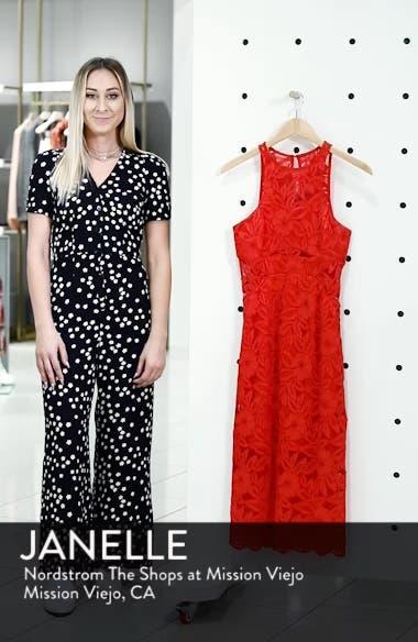 Erin Lace Midi Sheath Dress, sales video thumbnail