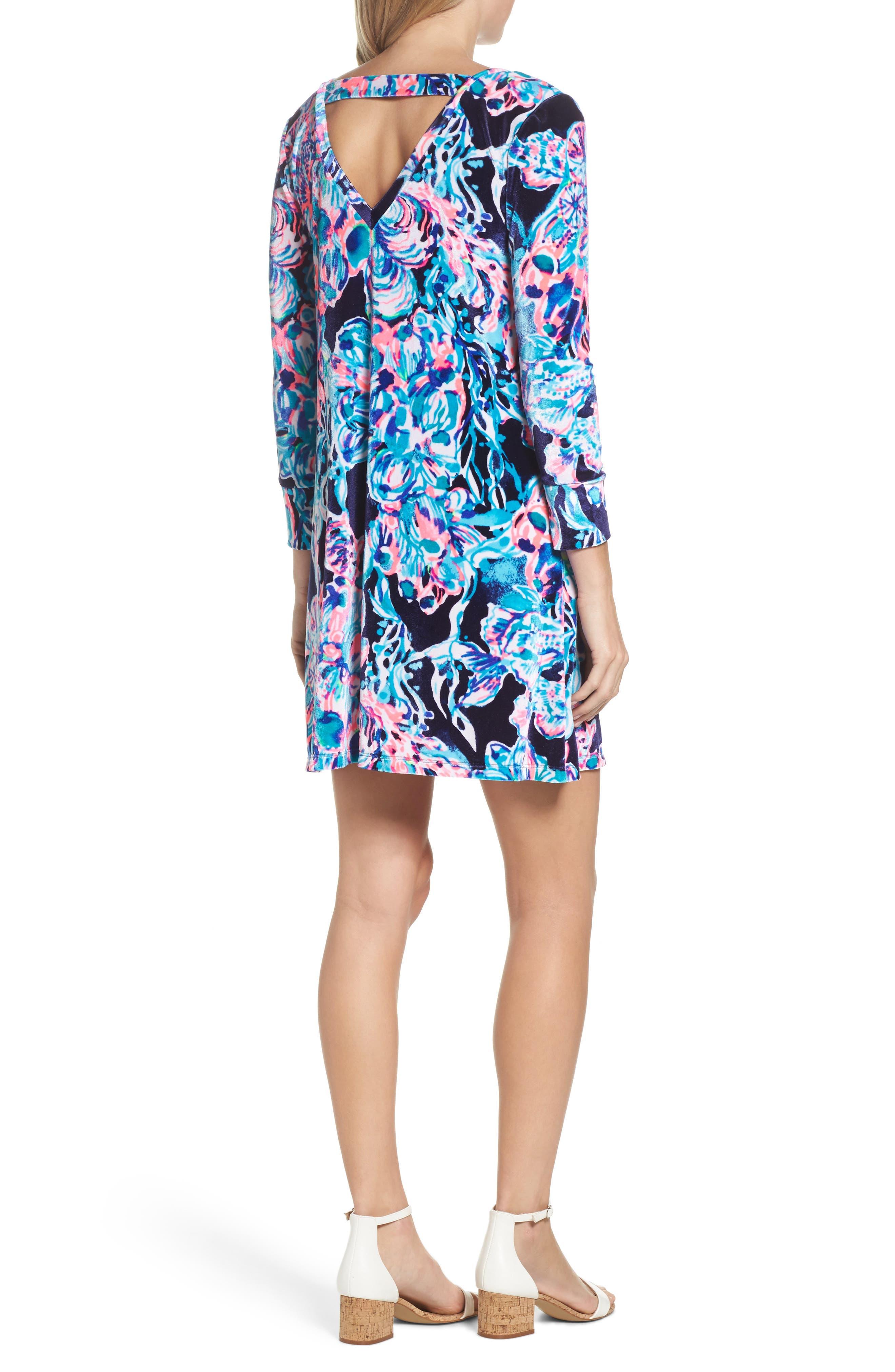 Olive Swing Dress,                             Alternate thumbnail 2, color,                             410
