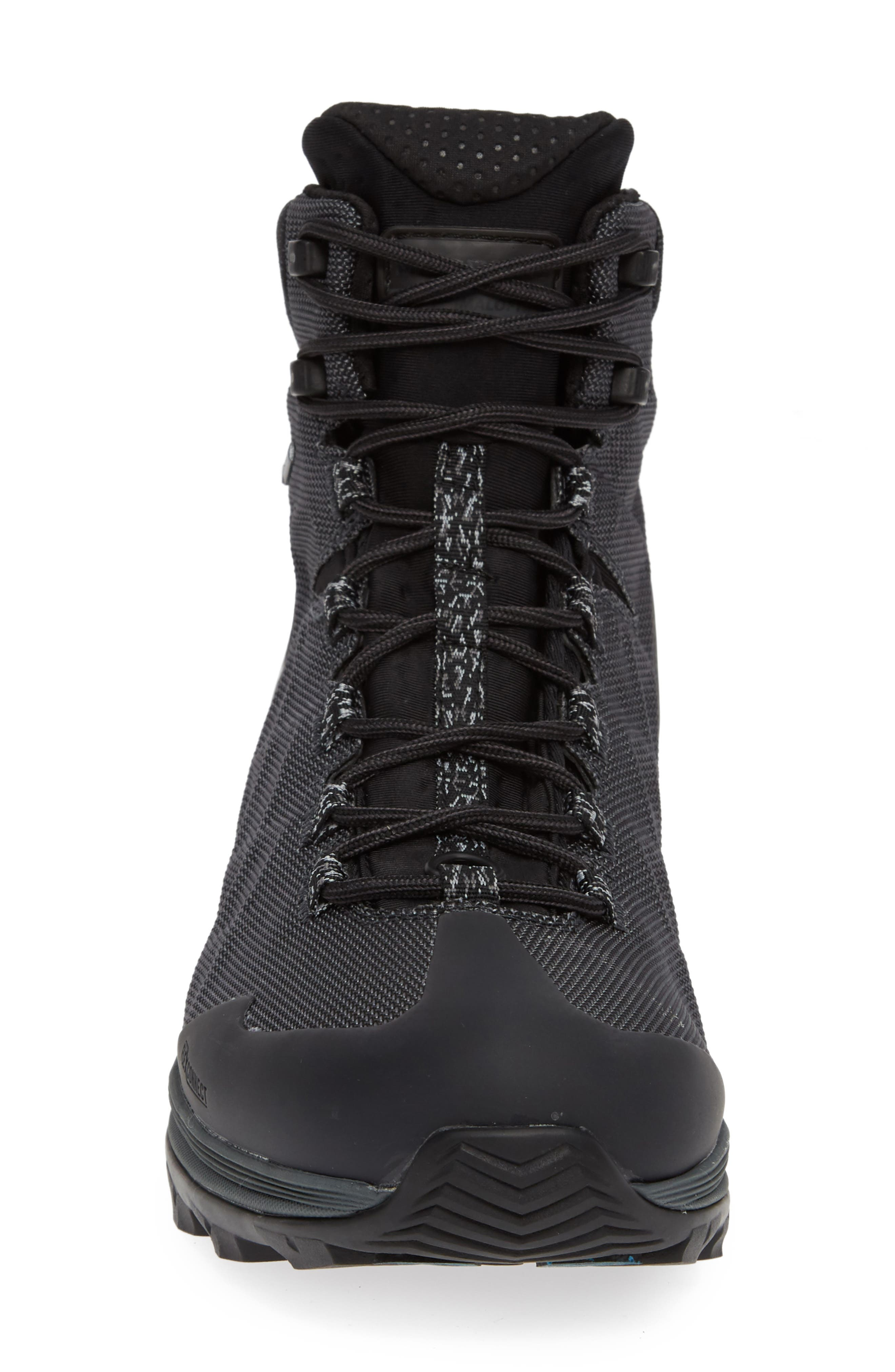 Thermo Rogue Gore-Tex<sup>®</sup> Waterproof Boot,                             Alternate thumbnail 4, color,                             BLACK