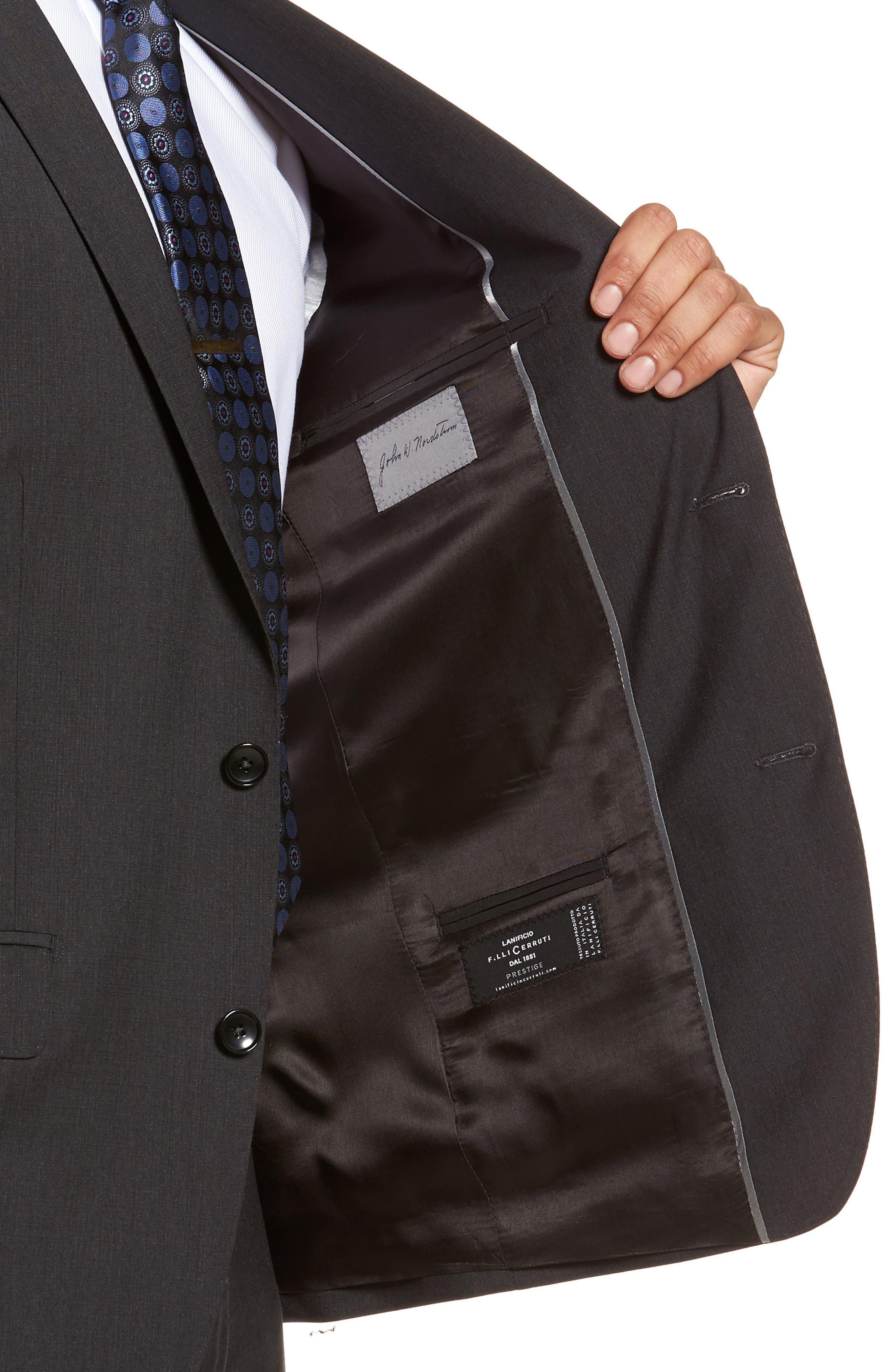 Classic Fit Check Suit,                             Alternate thumbnail 4, color,                             020