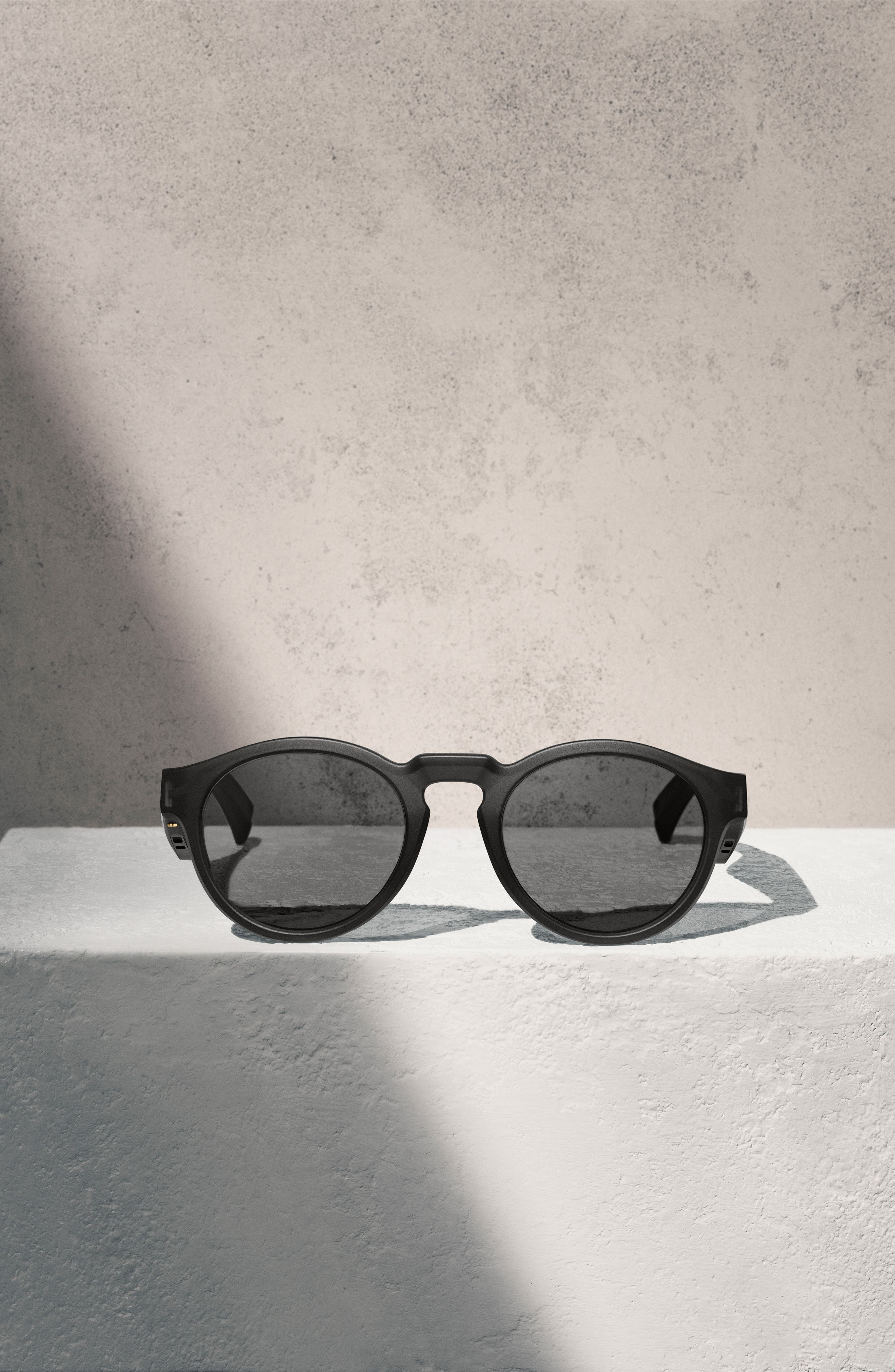 BOSE<SUP>®</SUP>,                             Frames Rondo 50mm Audio Sunglasses,                             Alternate thumbnail 7, color,                             BLACK