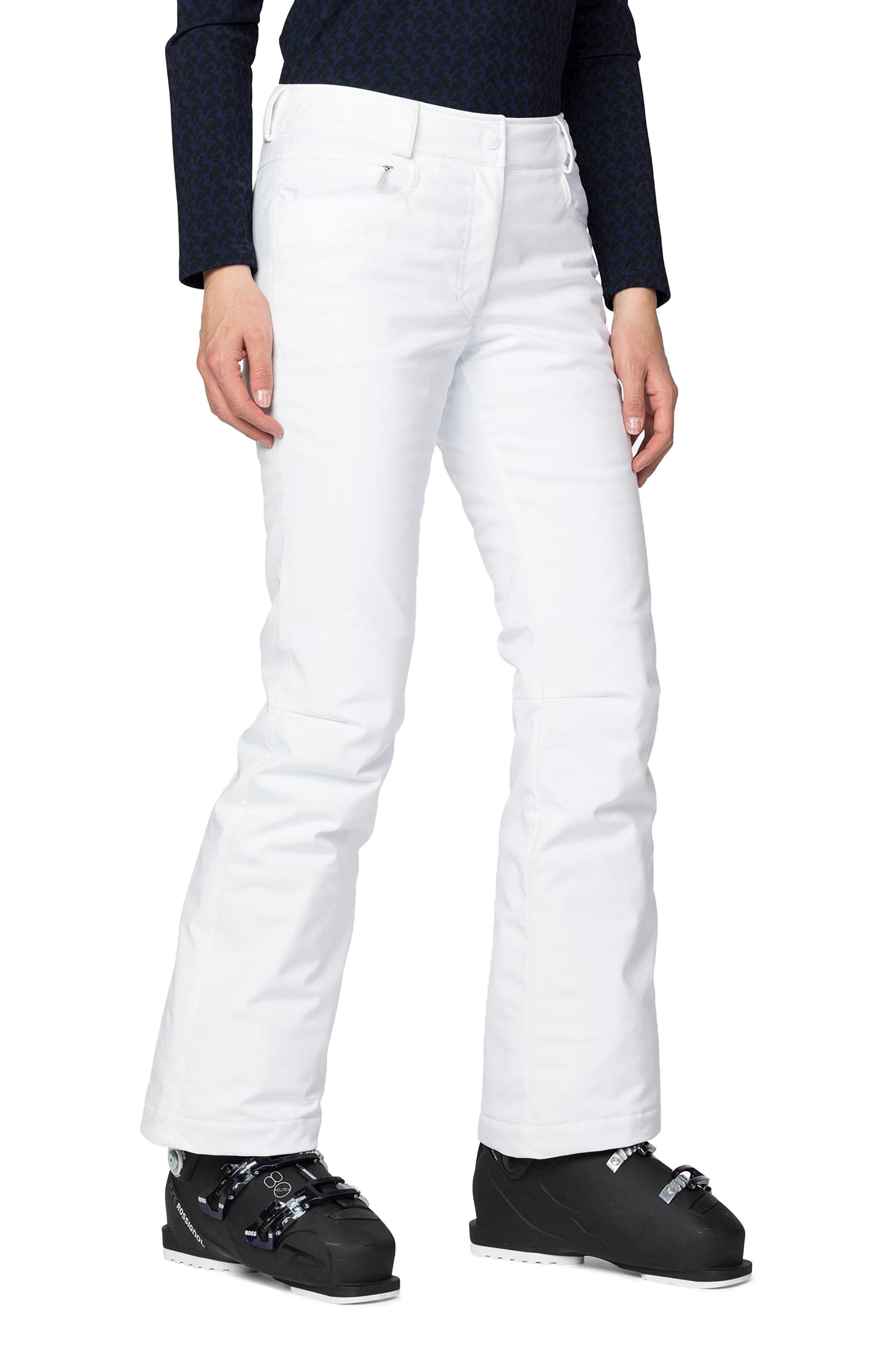 Rossignol Palmares Ski Pants, White