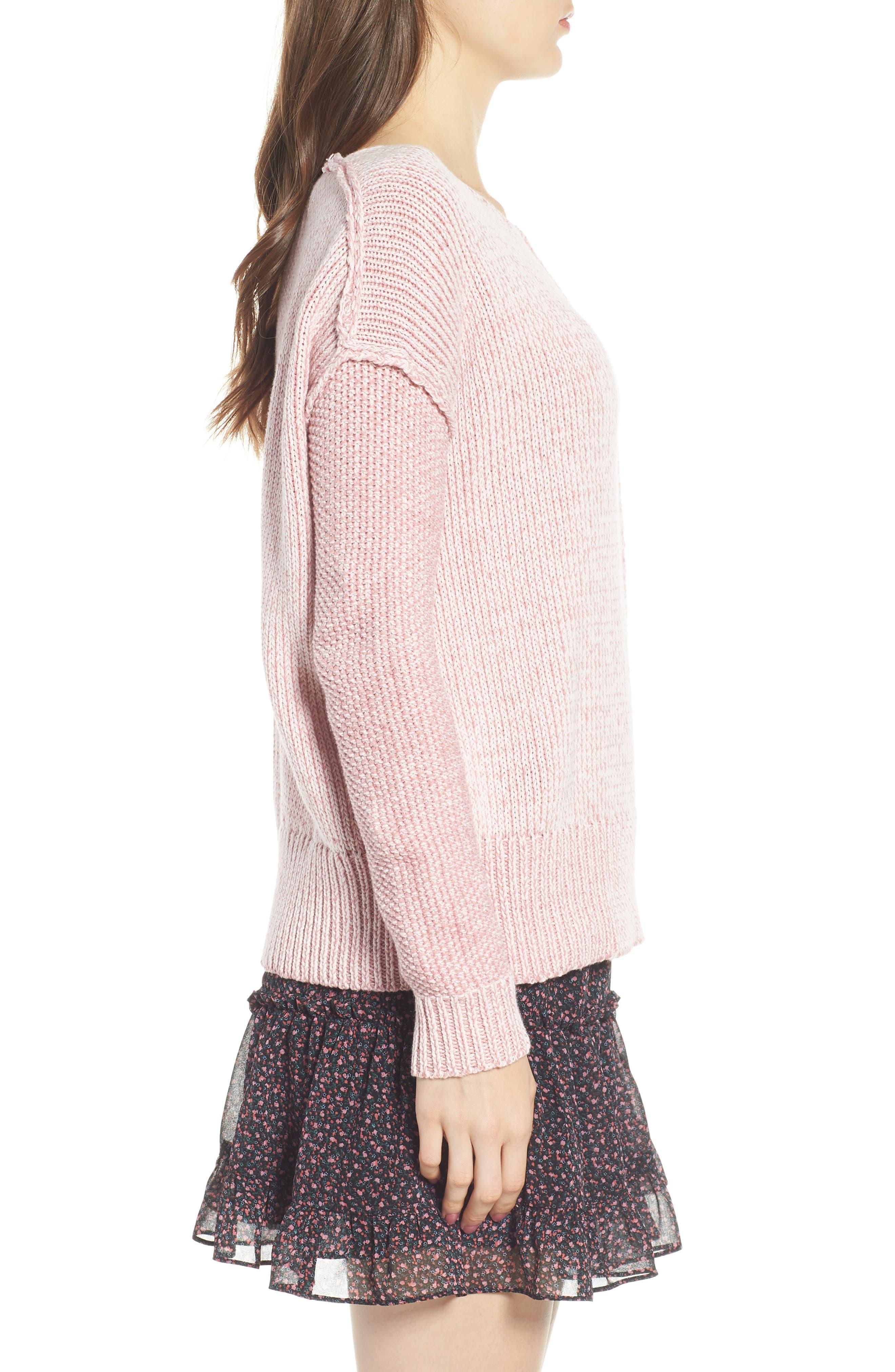 Lola Reversible Twist Sweater,                             Alternate thumbnail 12, color,