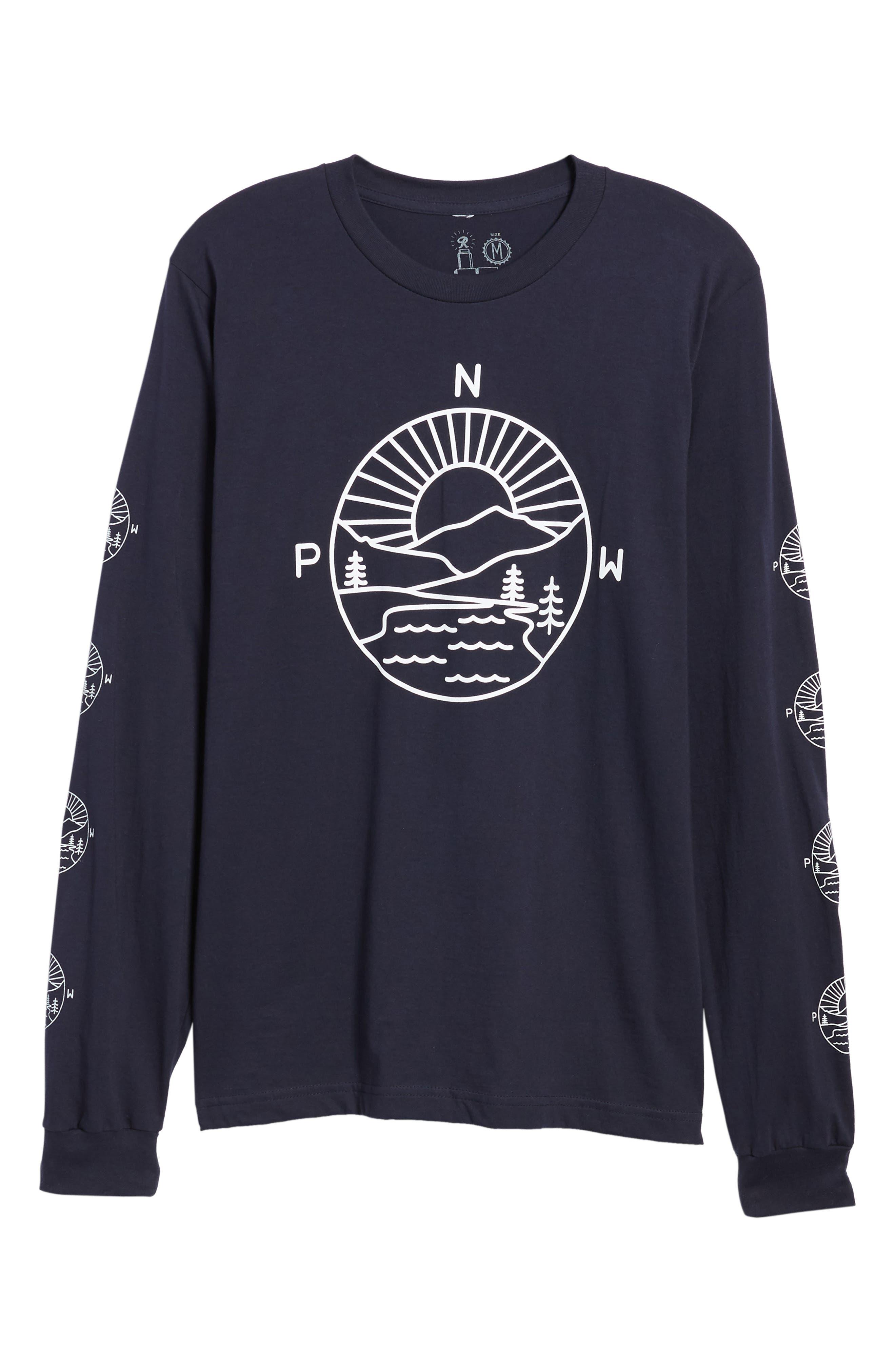PNW Explorer T-Shirt,                             Alternate thumbnail 6, color,