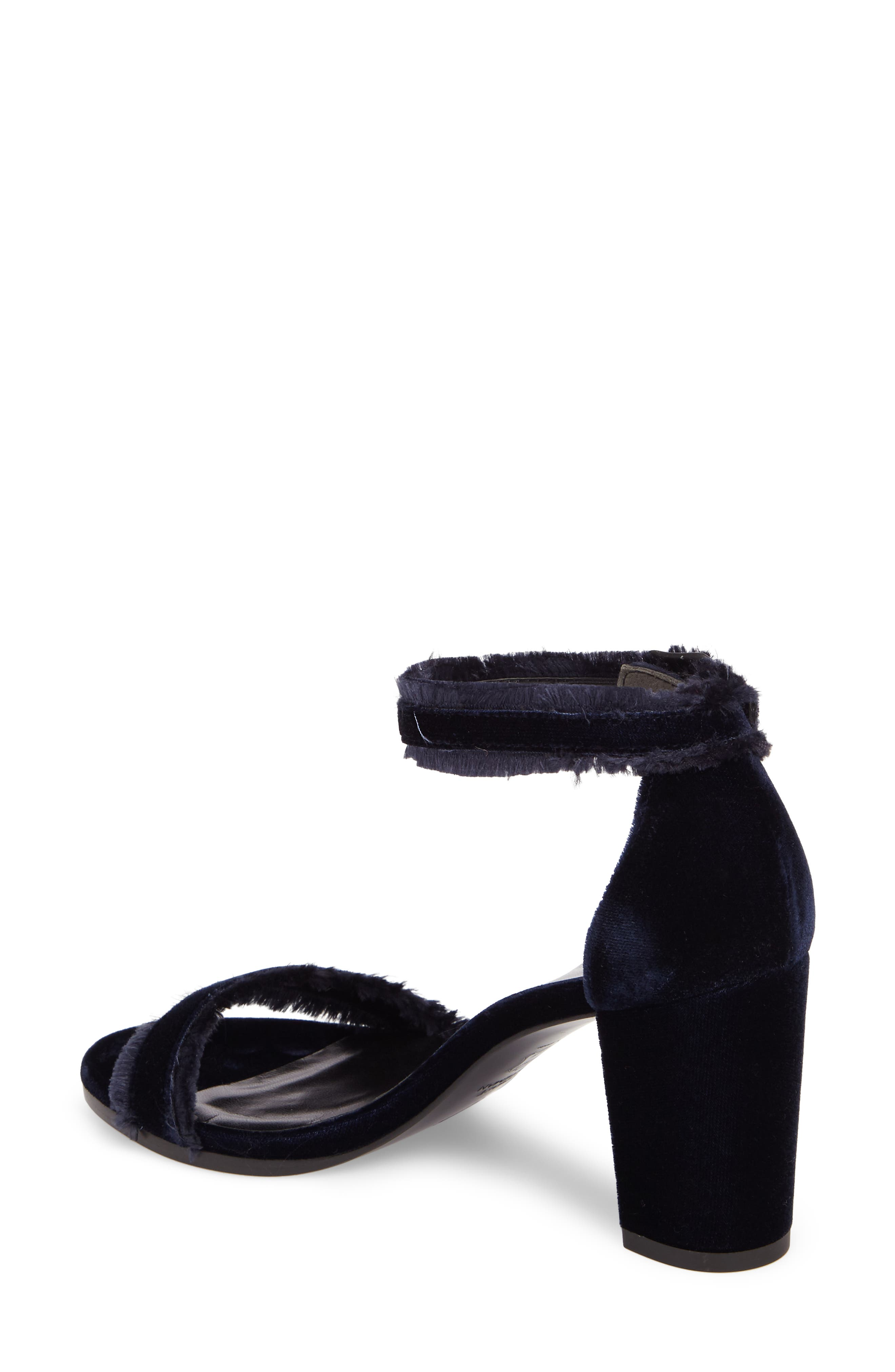 Frayed Ankle Strap Sandal,                             Alternate thumbnail 2, color,                             410